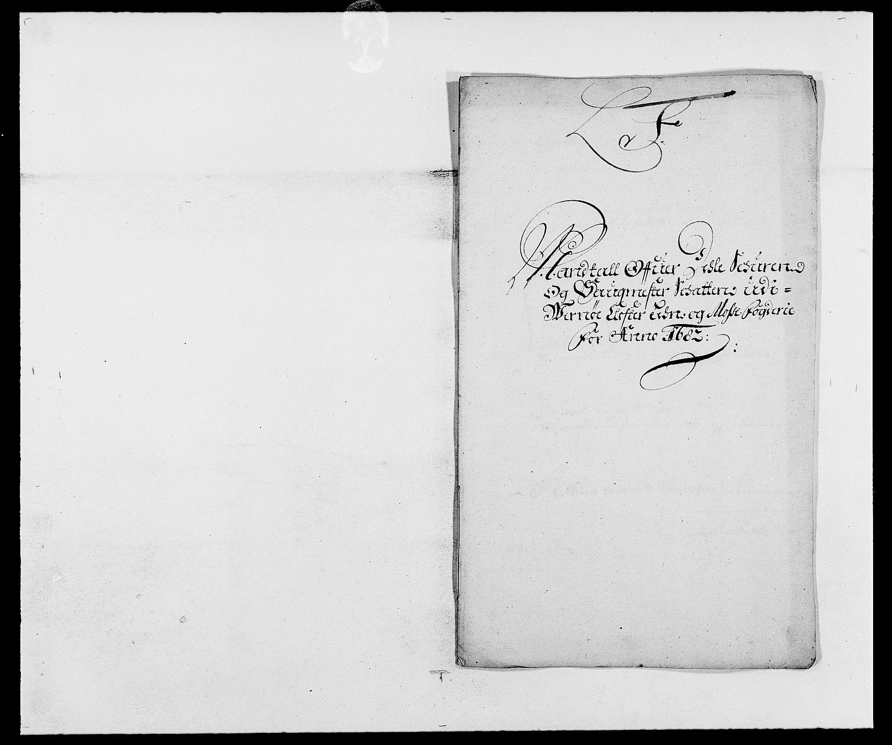 RA, Rentekammeret inntil 1814, Reviderte regnskaper, Fogderegnskap, R02/L0103: Fogderegnskap Moss og Verne kloster, 1682-1684, s. 216