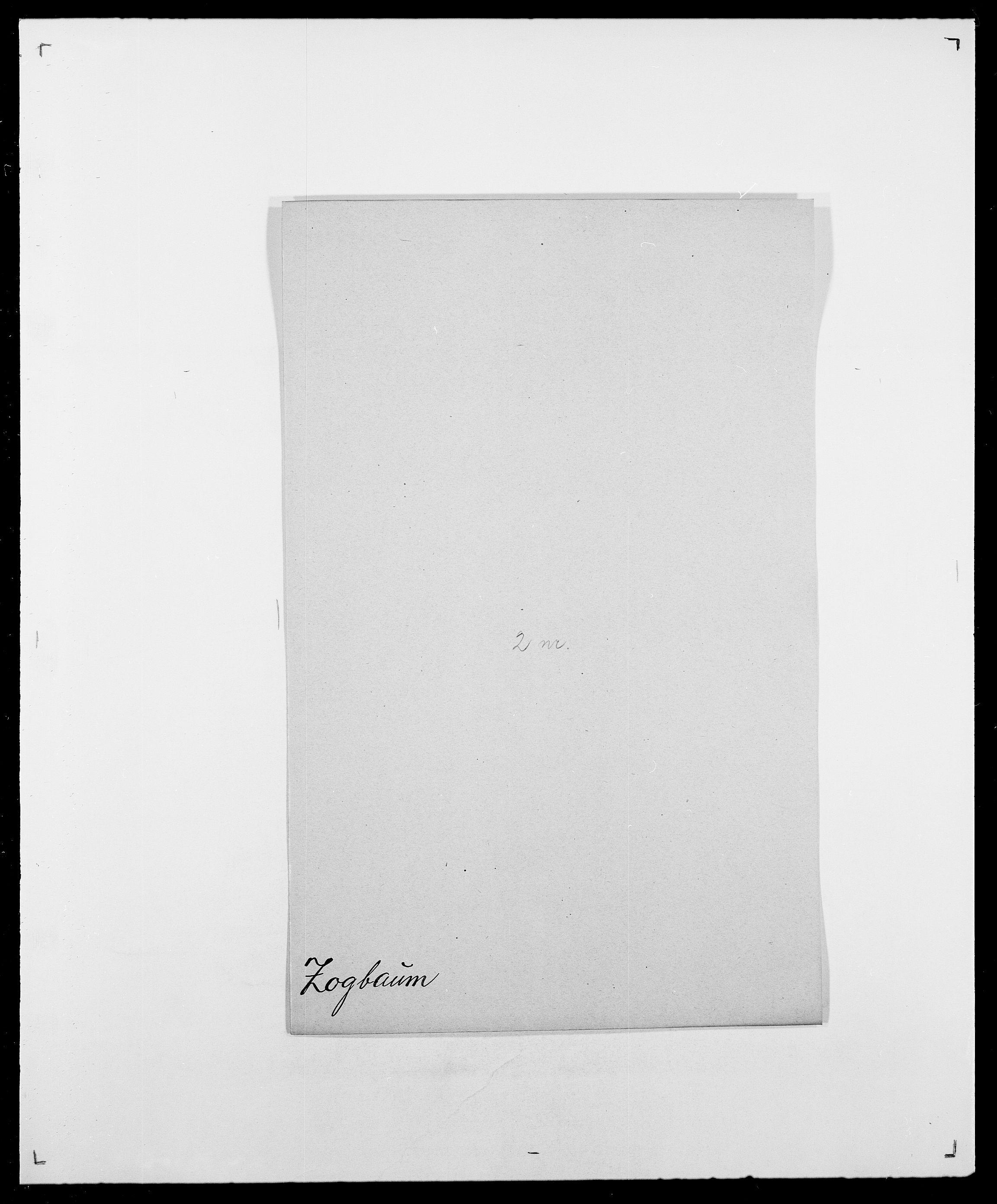 SAO, Delgobe, Charles Antoine - samling, D/Da/L0043: Wulfsberg - v. Zanten, s. 206