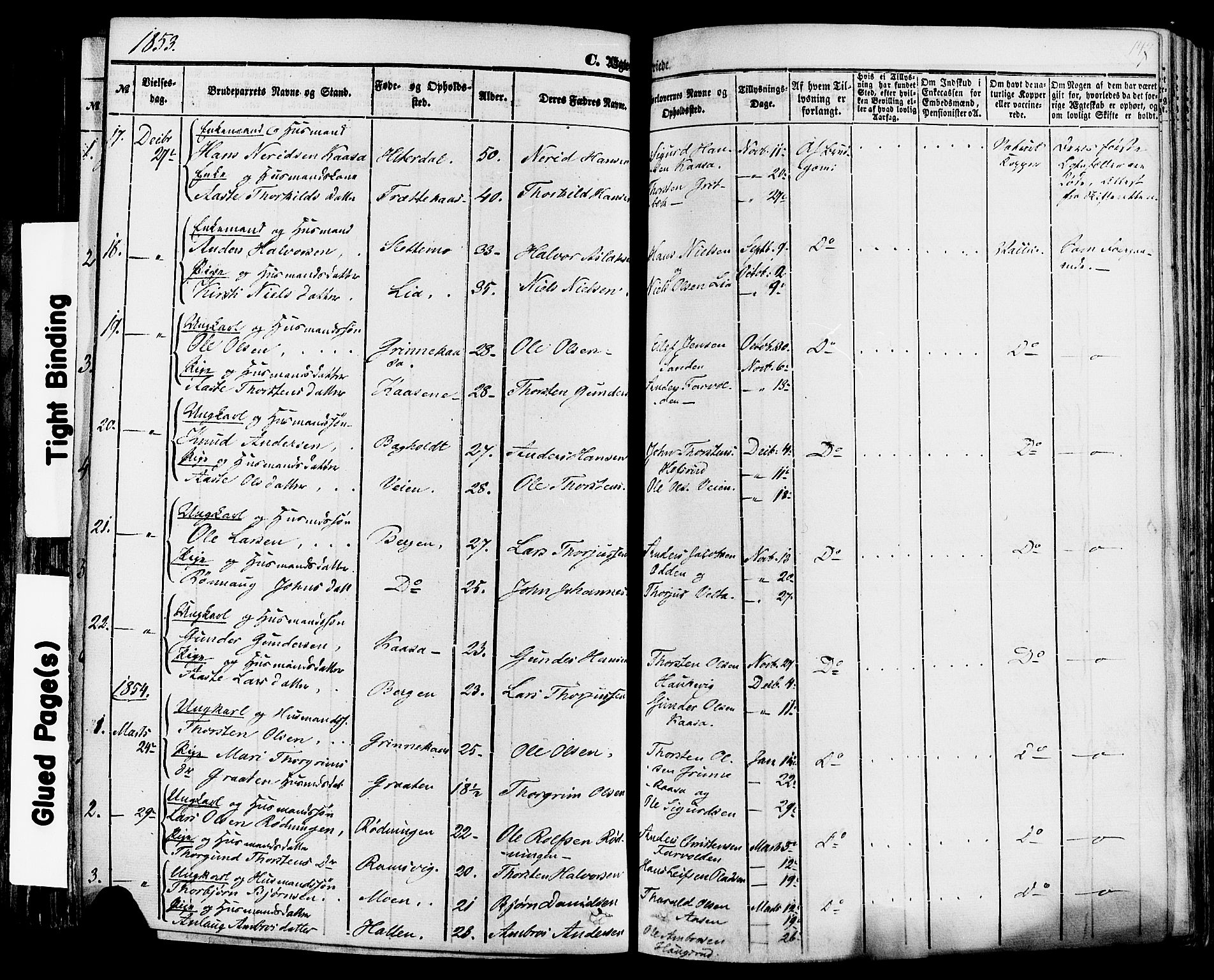 SAKO, Sauherad kirkebøker, F/Fa/L0007: Ministerialbok nr. I 7, 1851-1873, s. 147