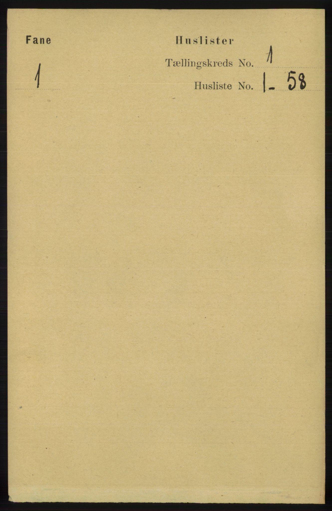 RA, Folketelling 1891 for 1249 Fana herred, 1891, s. 27