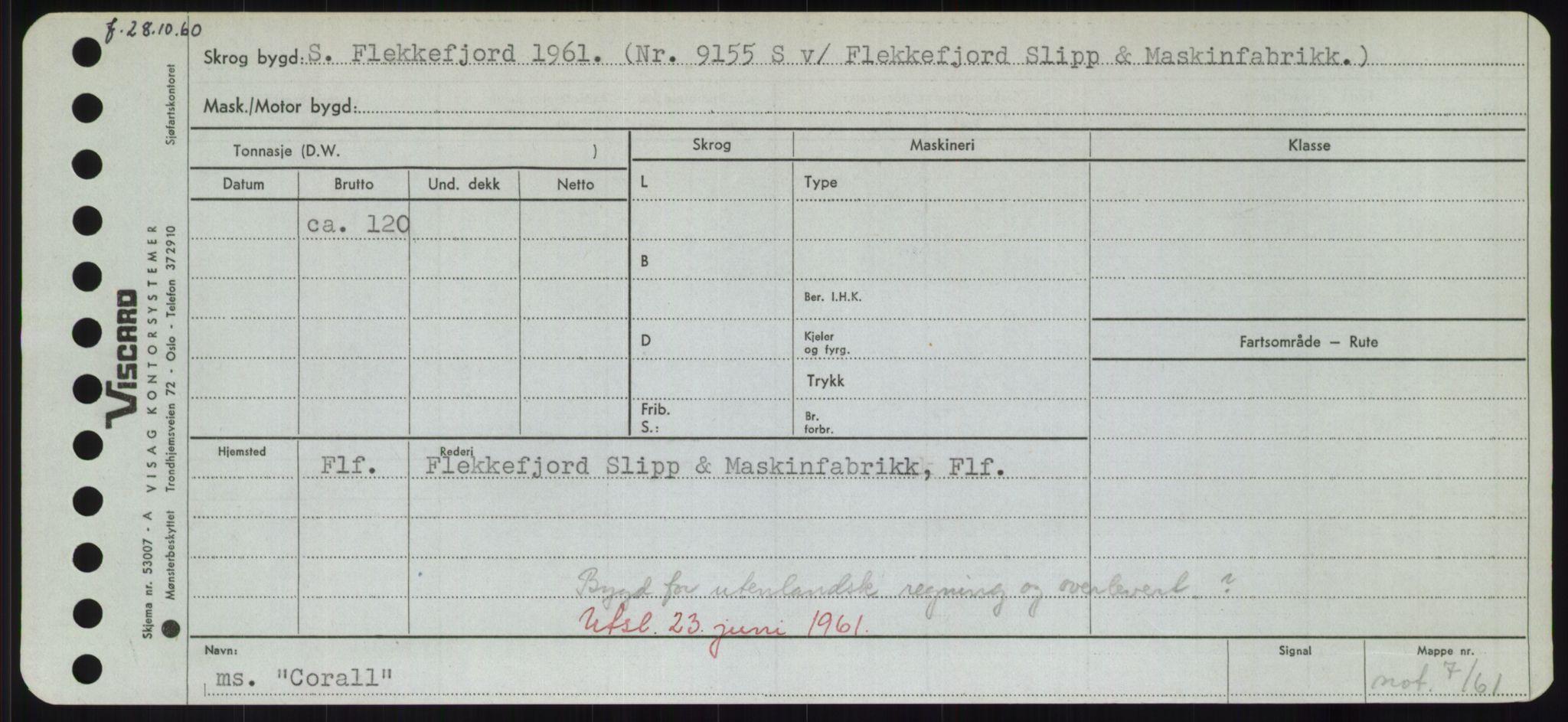 RA, Sjøfartsdirektoratet med forløpere, Skipsmålingen, H/Hd/L0008: Fartøy, C-D, s. 219