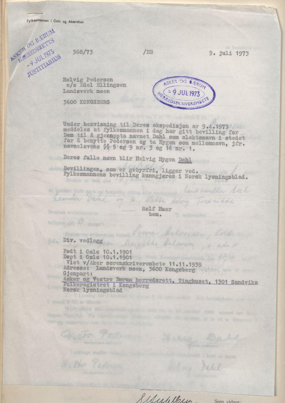 SAO, Aker sorenskriveri, L/Lc/Lcb/L0012: Vigselprotokoll, 1939-1940, s. upaginert
