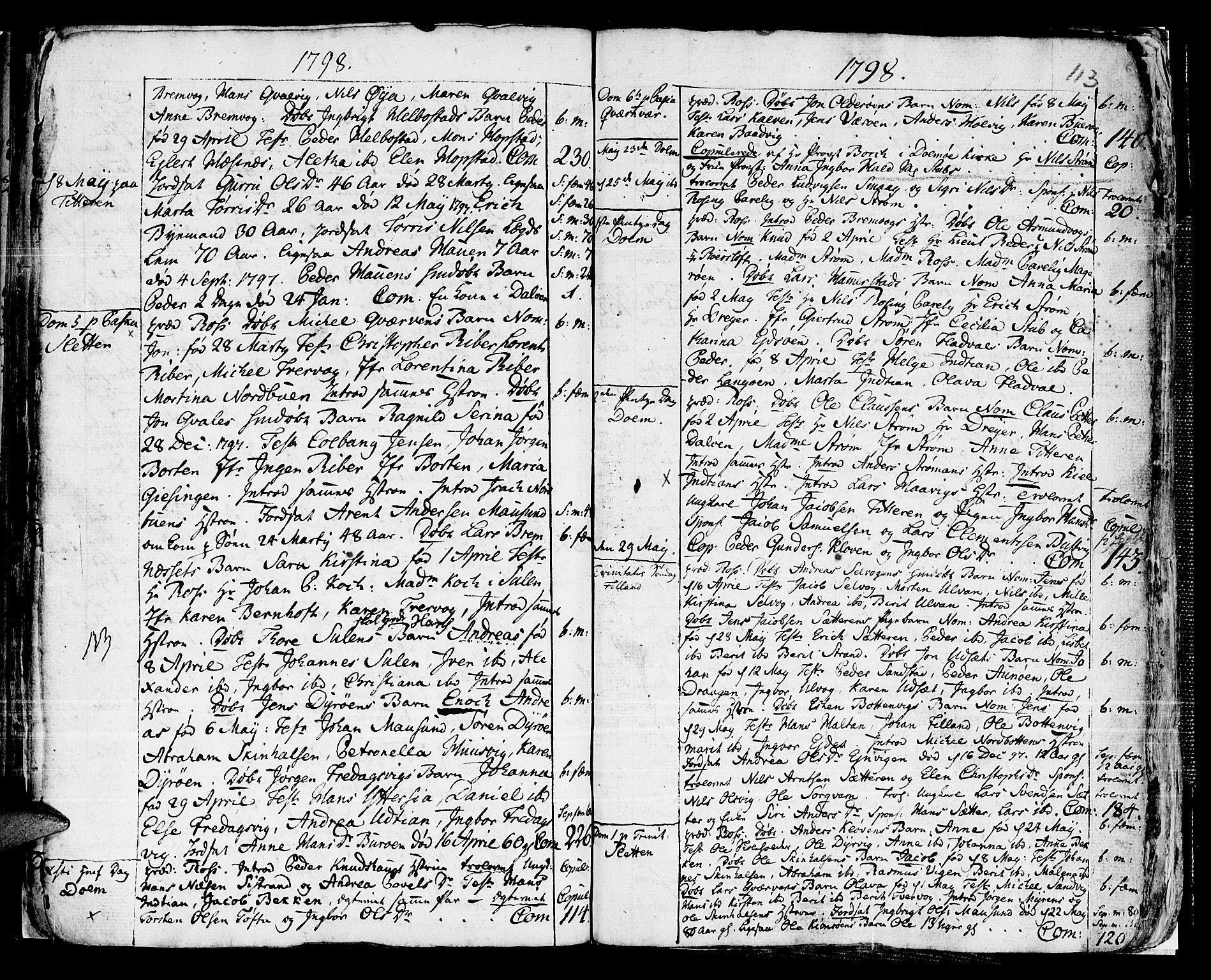 SAT, Ministerialprotokoller, klokkerbøker og fødselsregistre - Sør-Trøndelag, 634/L0526: Ministerialbok nr. 634A02, 1775-1818, s. 113