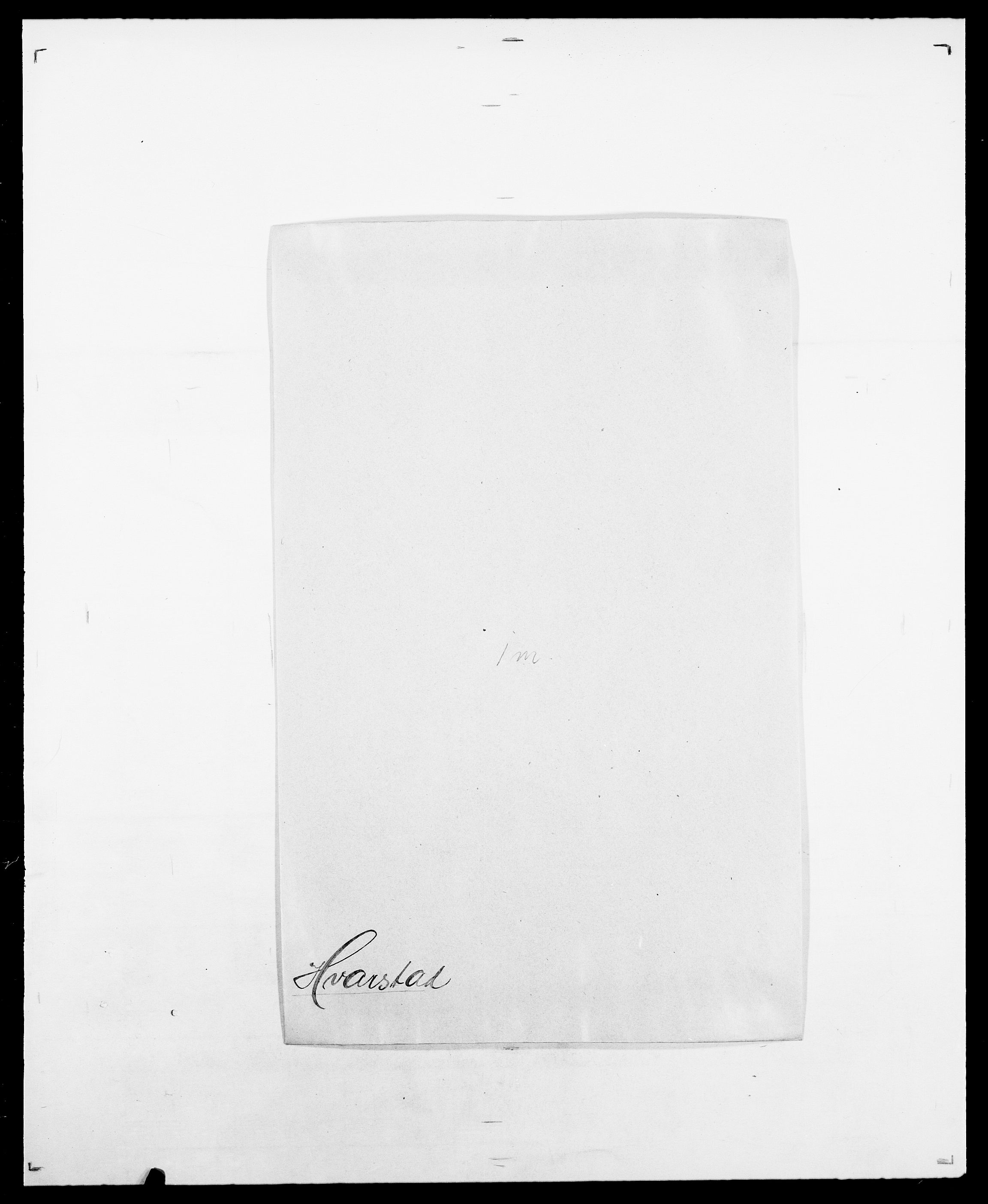 SAO, Delgobe, Charles Antoine - samling, D/Da/L0019: van der Hude - Joys, s. 121