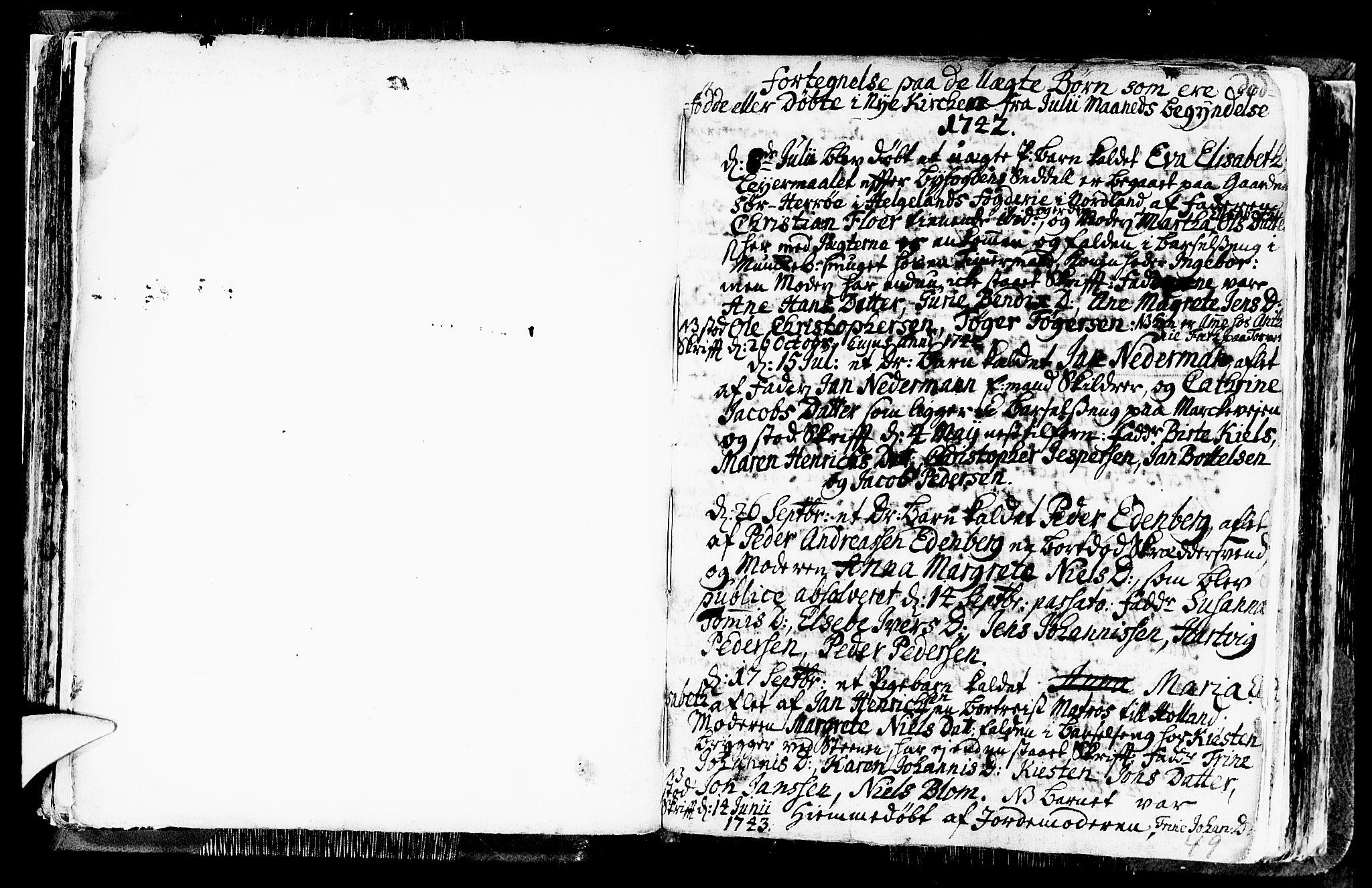 SAB, Nykirken Sokneprestembete, H/Haa: Ministerialbok nr. A 1, 1668-1820, s. 49