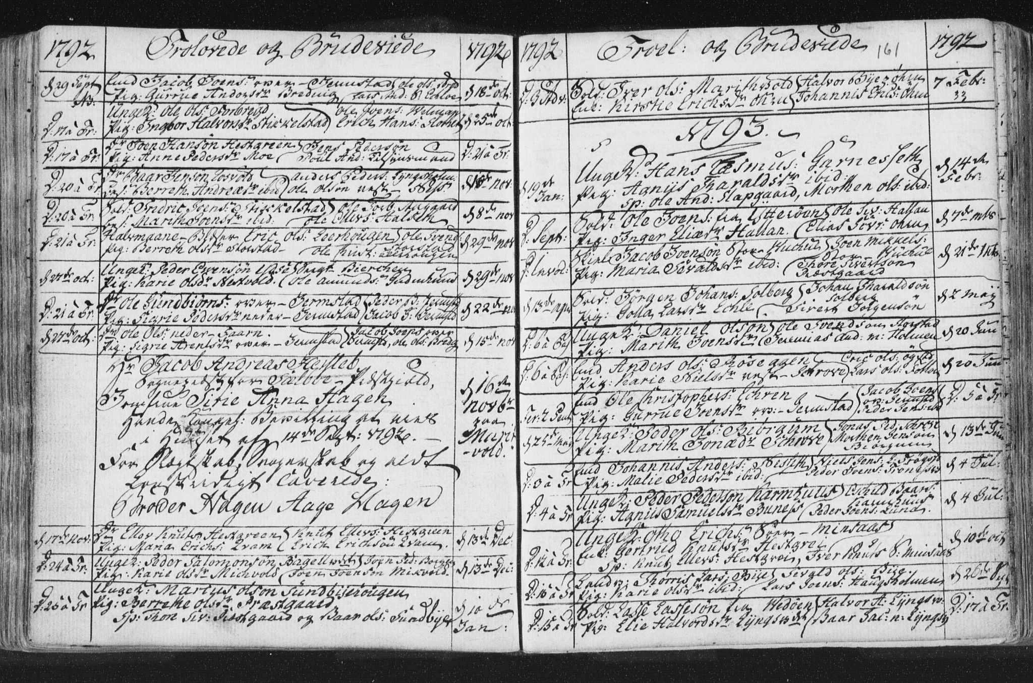 SAT, Ministerialprotokoller, klokkerbøker og fødselsregistre - Nord-Trøndelag, 723/L0232: Ministerialbok nr. 723A03, 1781-1804, s. 161