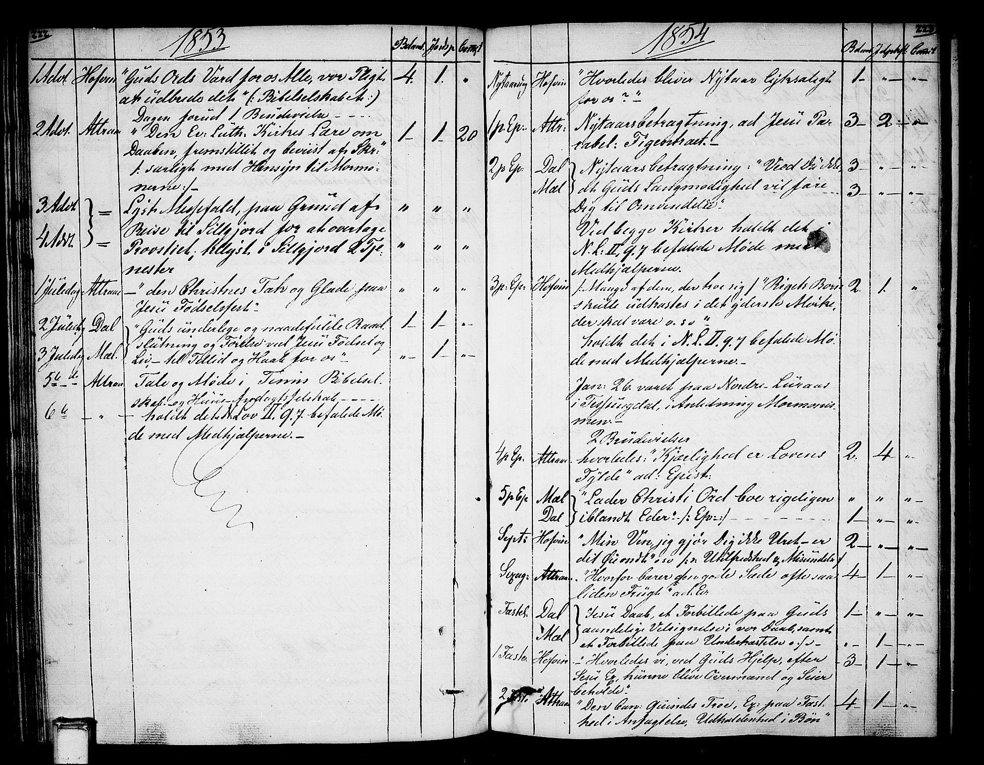 SAKO, Tinn kirkebøker, F/Fa/L0003: Ministerialbok nr. I 3, 1810-1814, s. 222-223