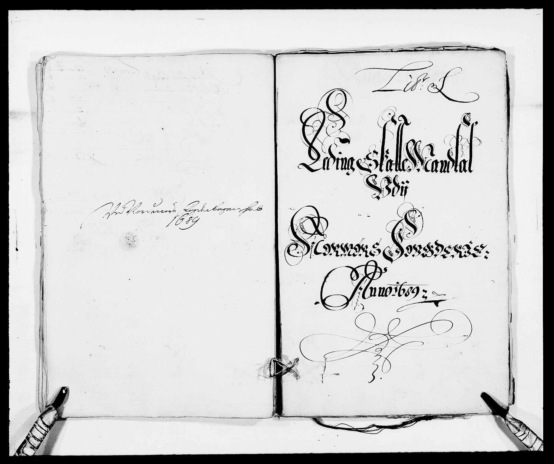 RA, Rentekammeret inntil 1814, Reviderte regnskaper, Fogderegnskap, R56/L3733: Fogderegnskap Nordmøre, 1687-1689, s. 435