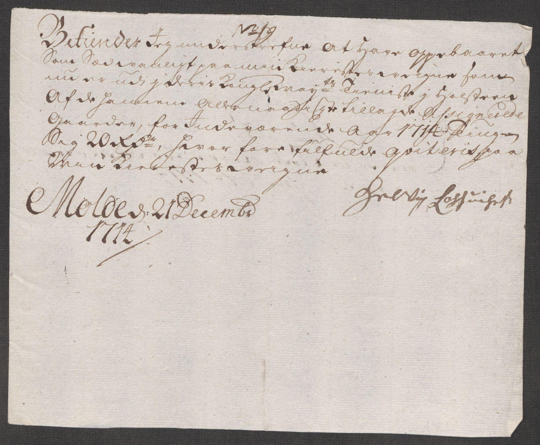 RA, Rentekammeret inntil 1814, Reviderte regnskaper, Fogderegnskap, R55/L3662: Fogderegnskap Romsdal, 1713-1714, s. 438