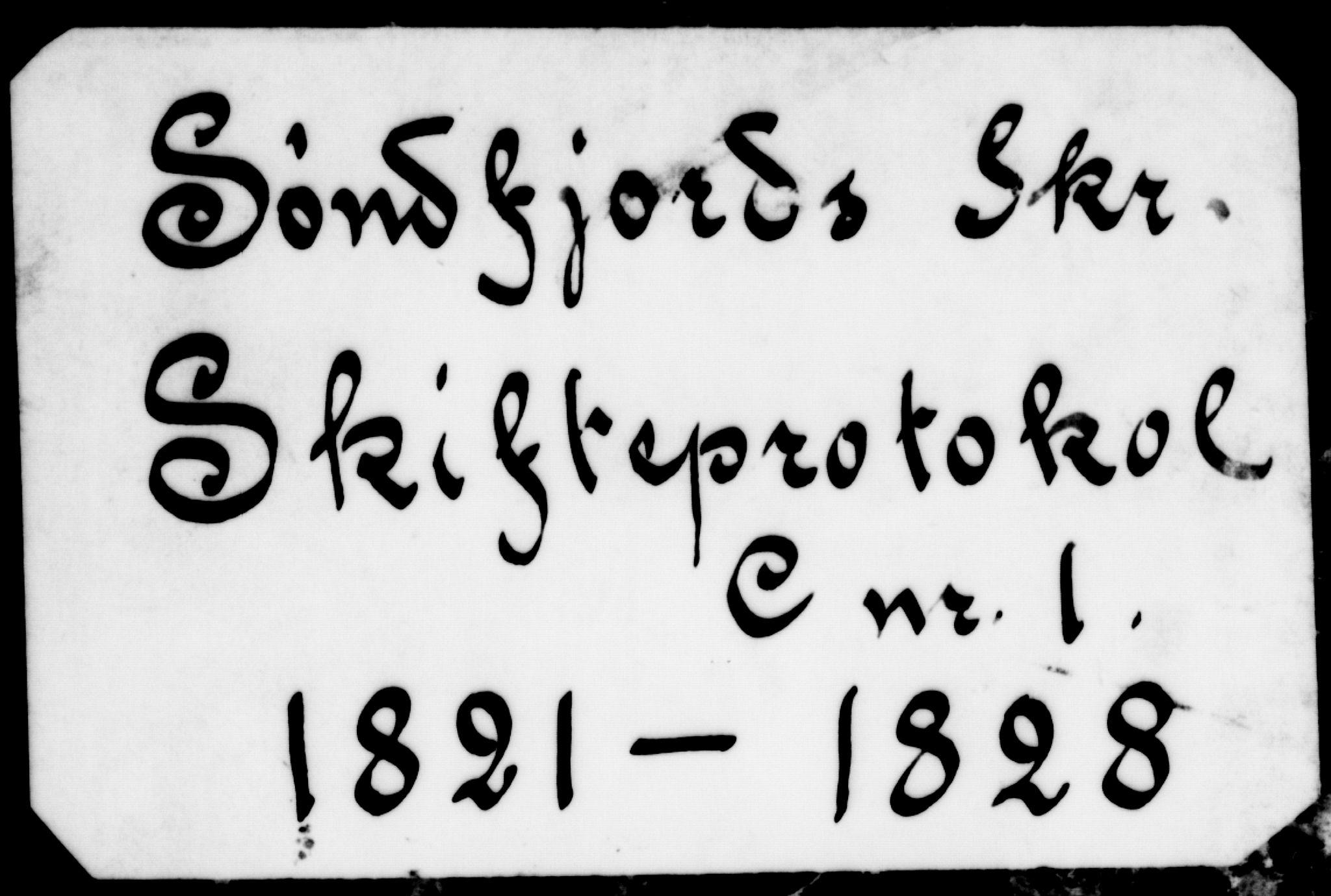 SAB, Sunnfjord tingrett, H/Ha/Had, 1821-1828