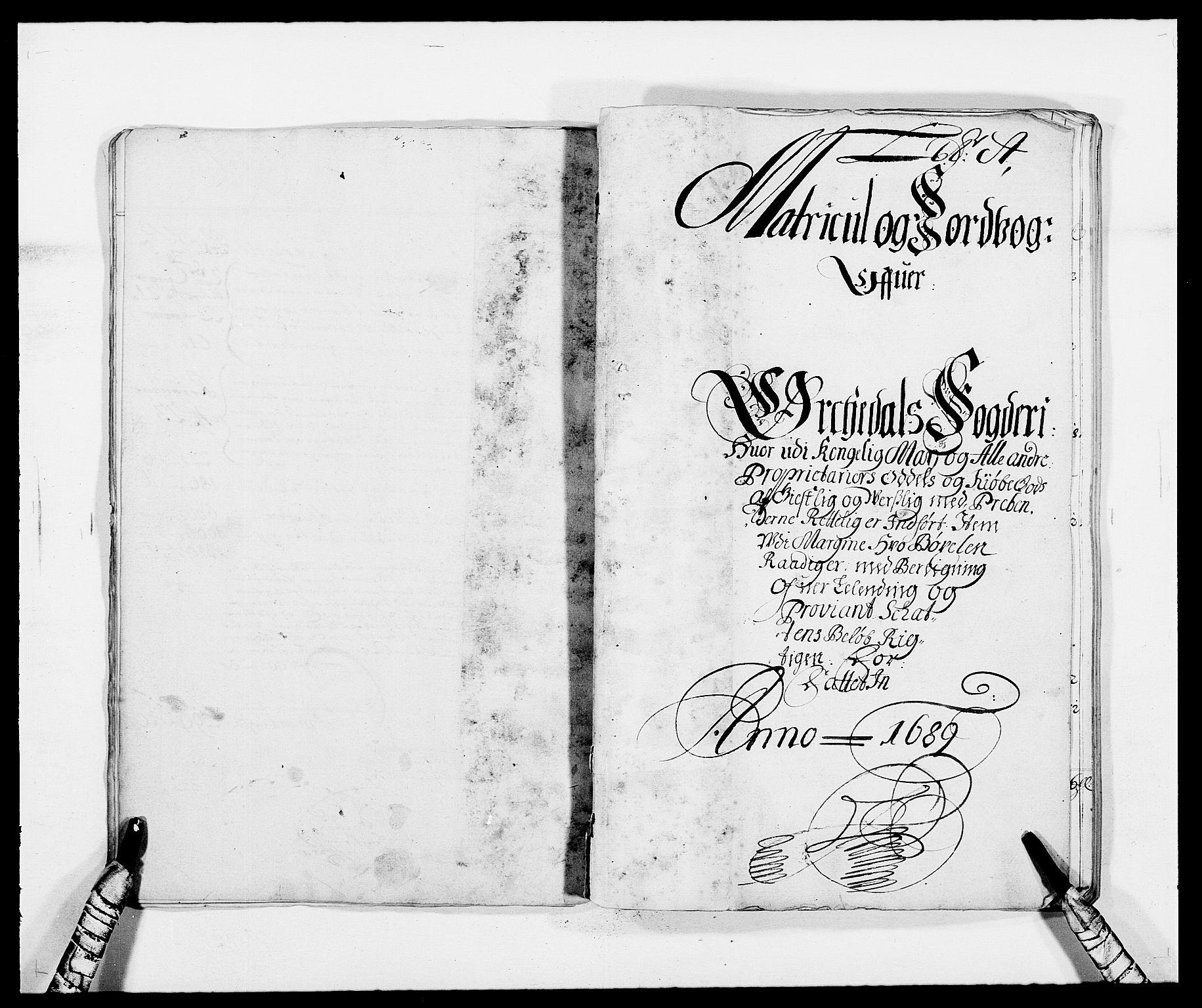 RA, Rentekammeret inntil 1814, Reviderte regnskaper, Fogderegnskap, R58/L3936: Fogderegnskap Orkdal, 1689-1690, s. 12