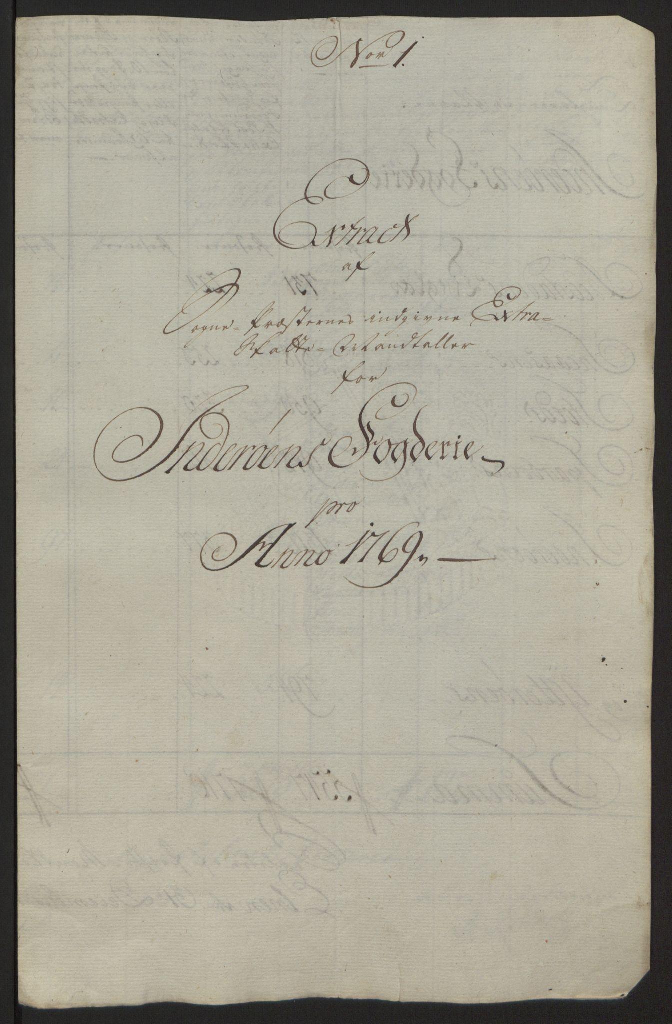 RA, Rentekammeret inntil 1814, Reviderte regnskaper, Fogderegnskap, R63/L4420: Ekstraskatten Inderøy, 1762-1772, s. 355