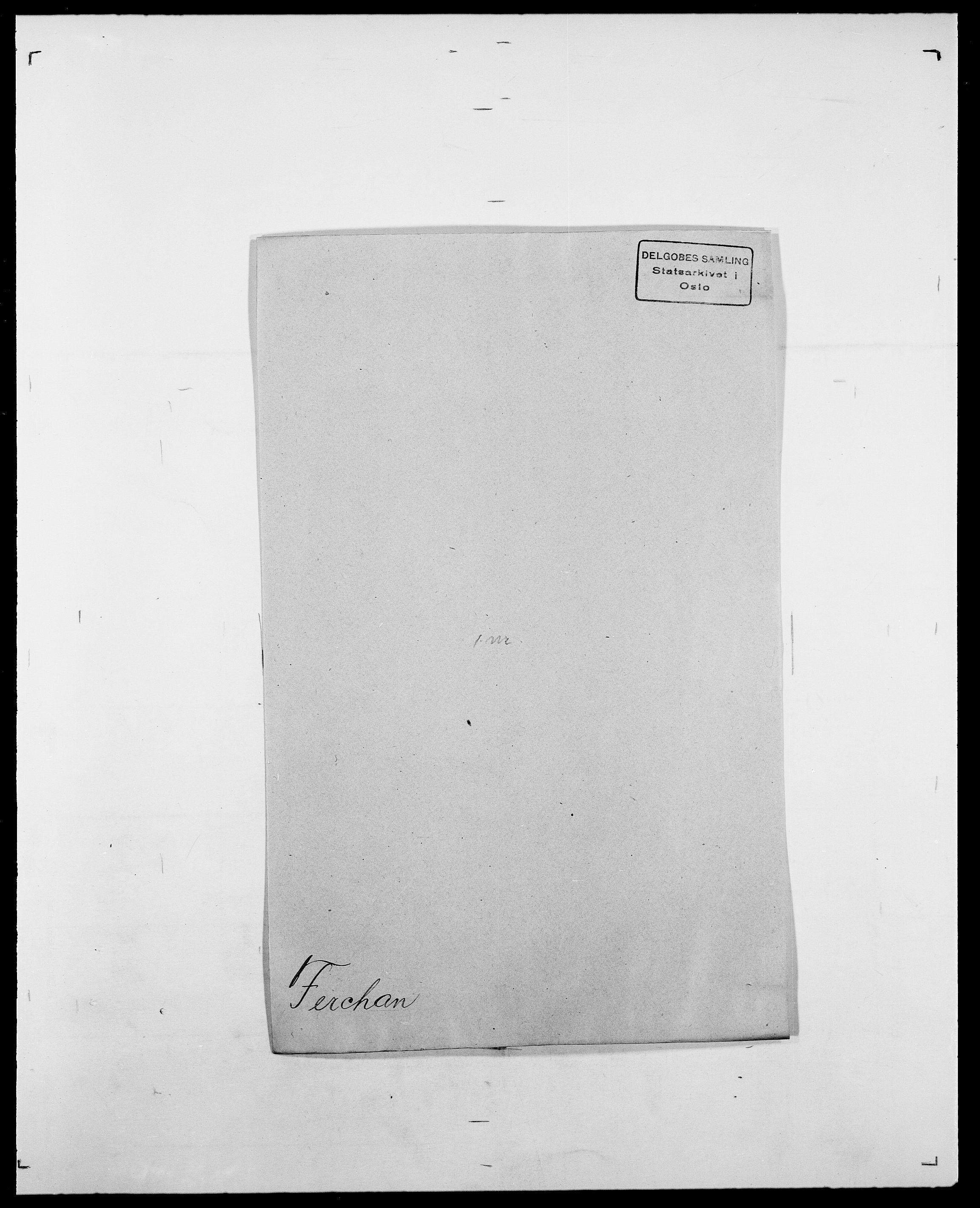 SAO, Delgobe, Charles Antoine - samling, D/Da/L0011: Fahlander - Flood, Flod, s. 367