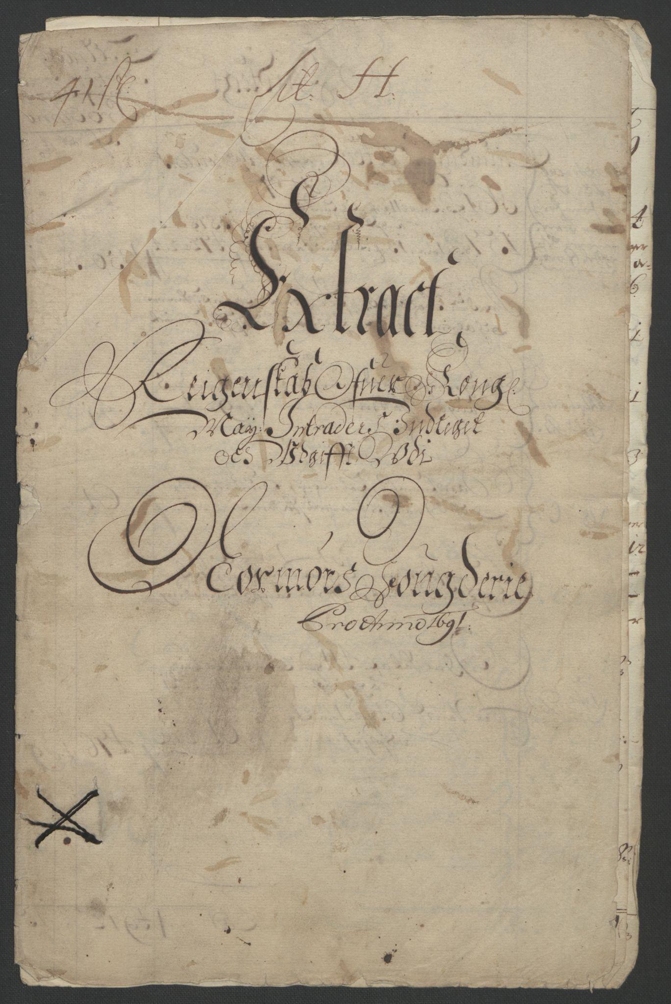 RA, Rentekammeret inntil 1814, Reviderte regnskaper, Fogderegnskap, R56/L3734: Fogderegnskap Nordmøre, 1690-1691, s. 221