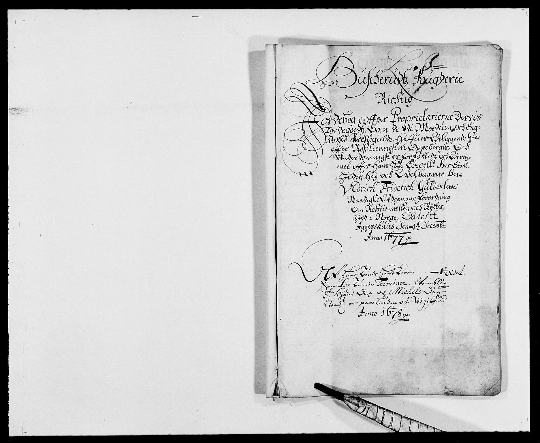 RA, Rentekammeret inntil 1814, Reviderte regnskaper, Fogderegnskap, R25/L1674: Fogderegnskap Buskerud, 1678-1681, s. 165