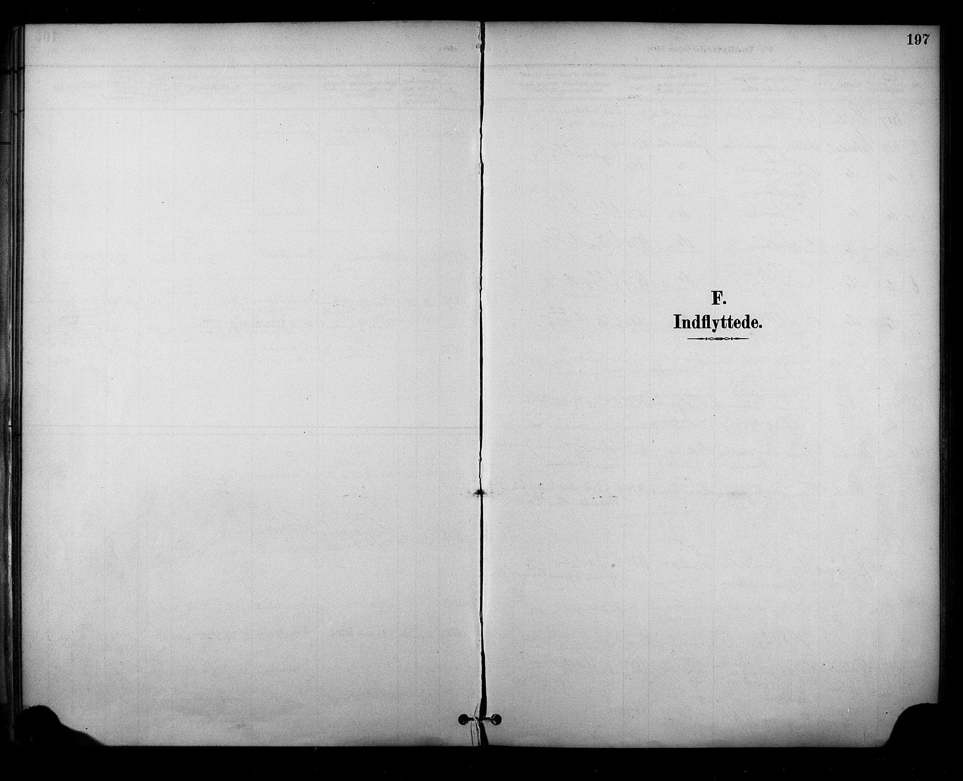 SAKO, Sauherad kirkebøker, F/Fa/L0009: Ministerialbok nr. I 9, 1887-1912, s. 197
