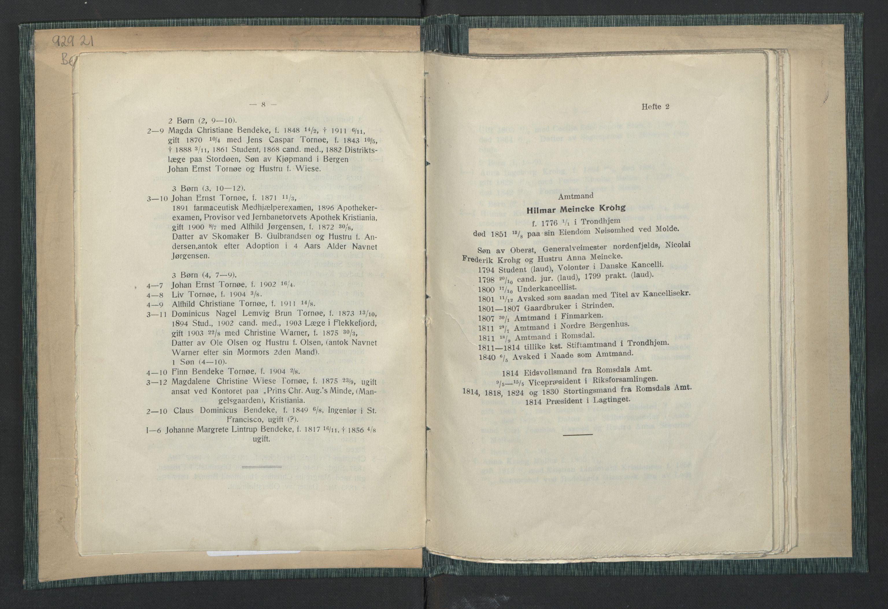 RA, Publikasjoner*, 1914, s. 6