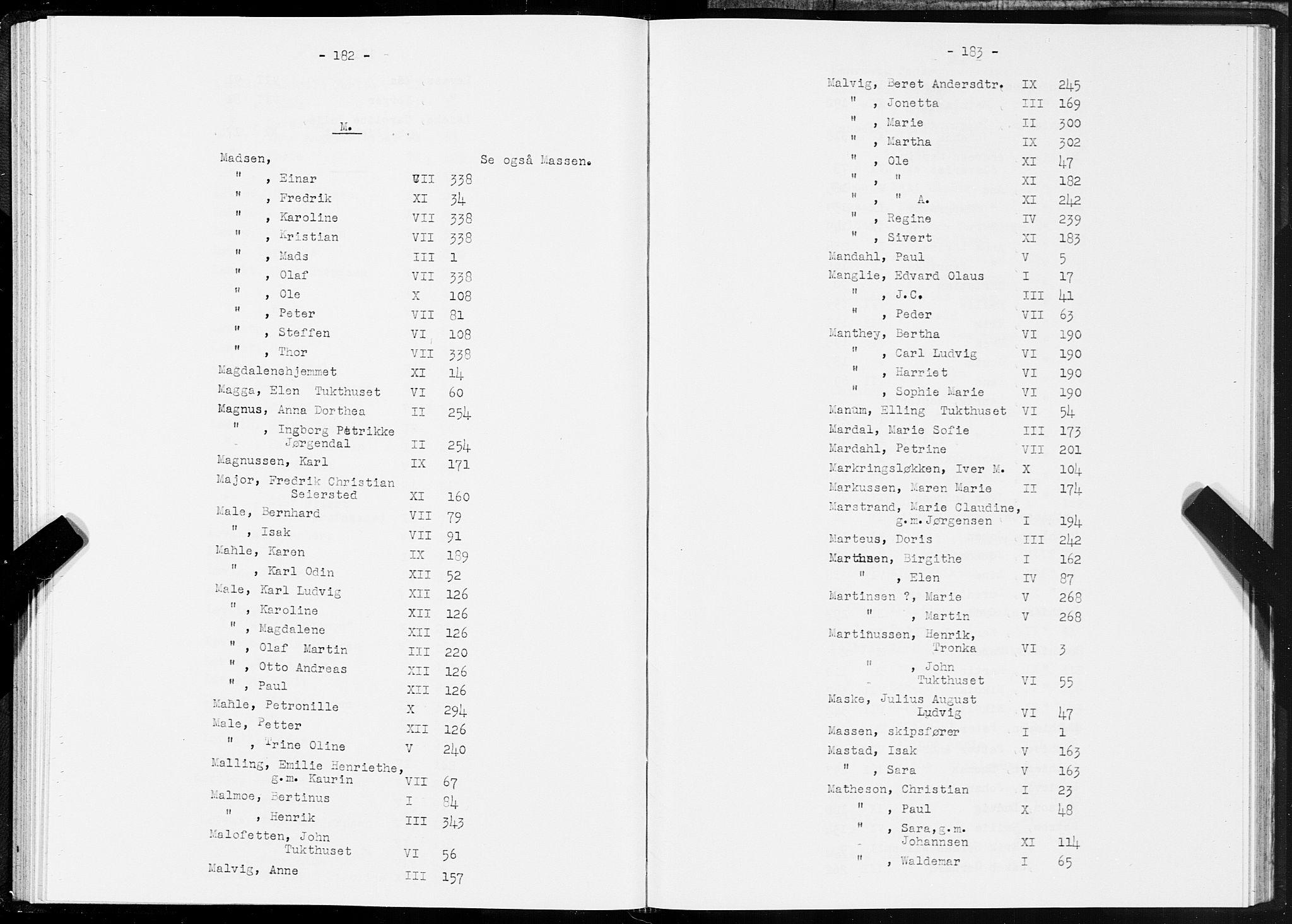 SAT, Folketelling 1875 for 1601 Trondheim kjøpstad, 1875, s. 182-183