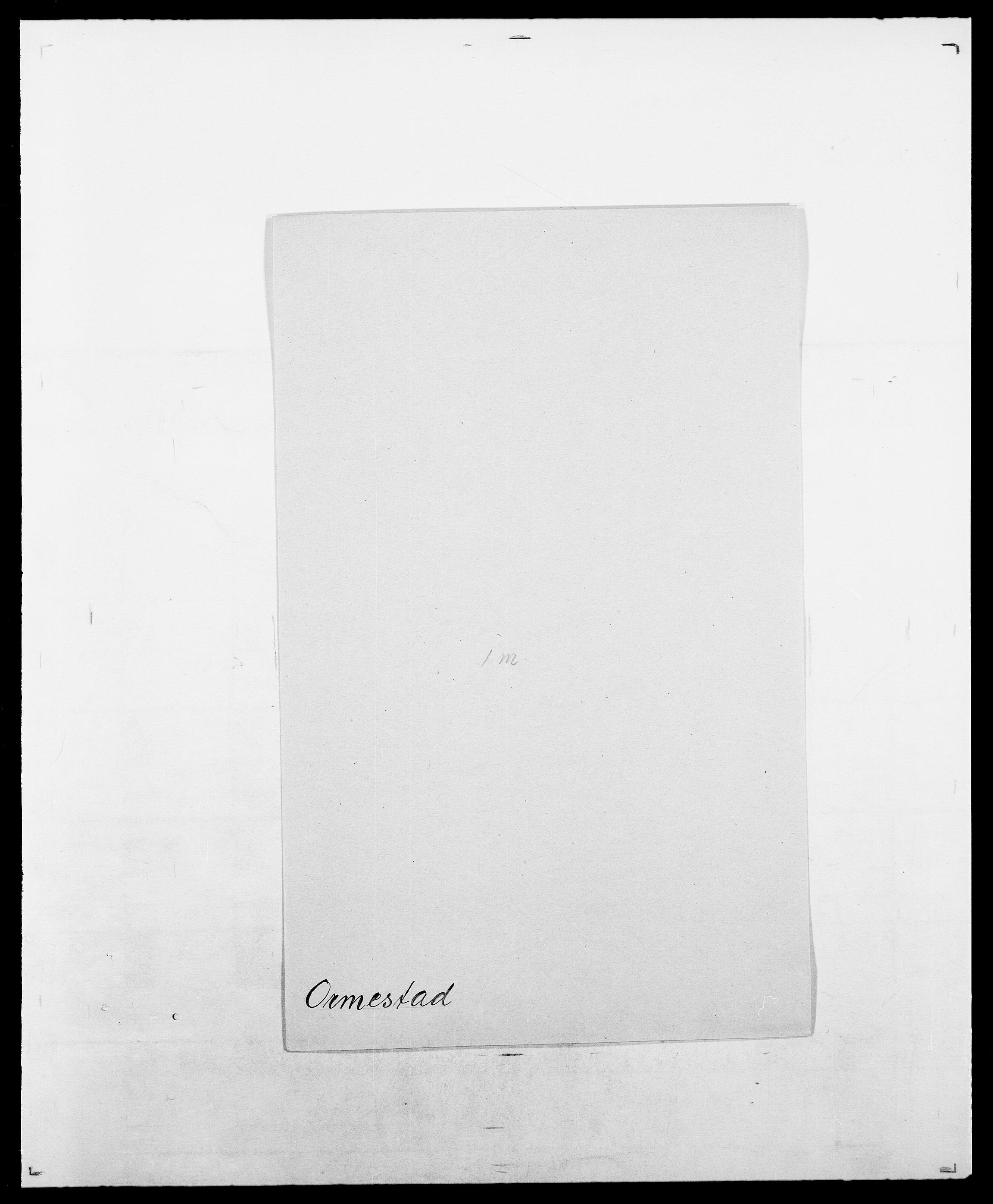 SAO, Delgobe, Charles Antoine - samling, D/Da/L0029: Obel - Oxholm, s. 414