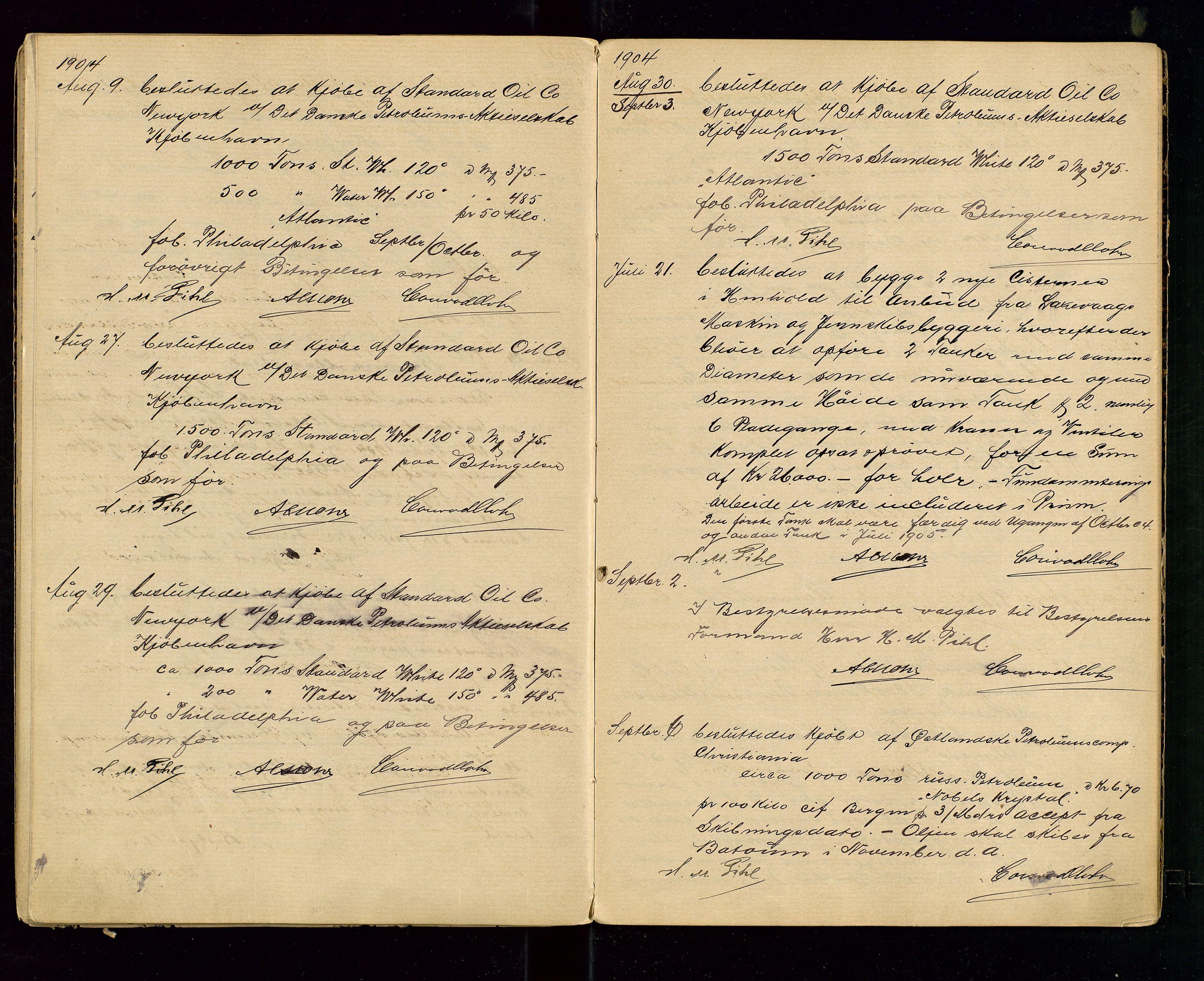 SAST, PA 1533 - A/S Vestlandske Petroleumscompani, A/Aa/L0001: Generalforsamlinger og styreprotokoller, 1890-1907, s. 53