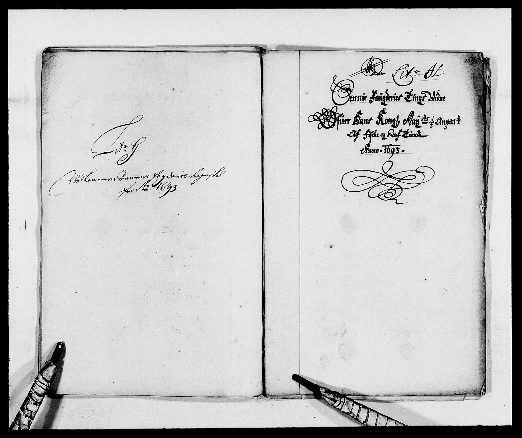 RA, Rentekammeret inntil 1814, Reviderte regnskaper, Fogderegnskap, R68/L4752: Fogderegnskap Senja og Troms, 1691-1693, s. 406