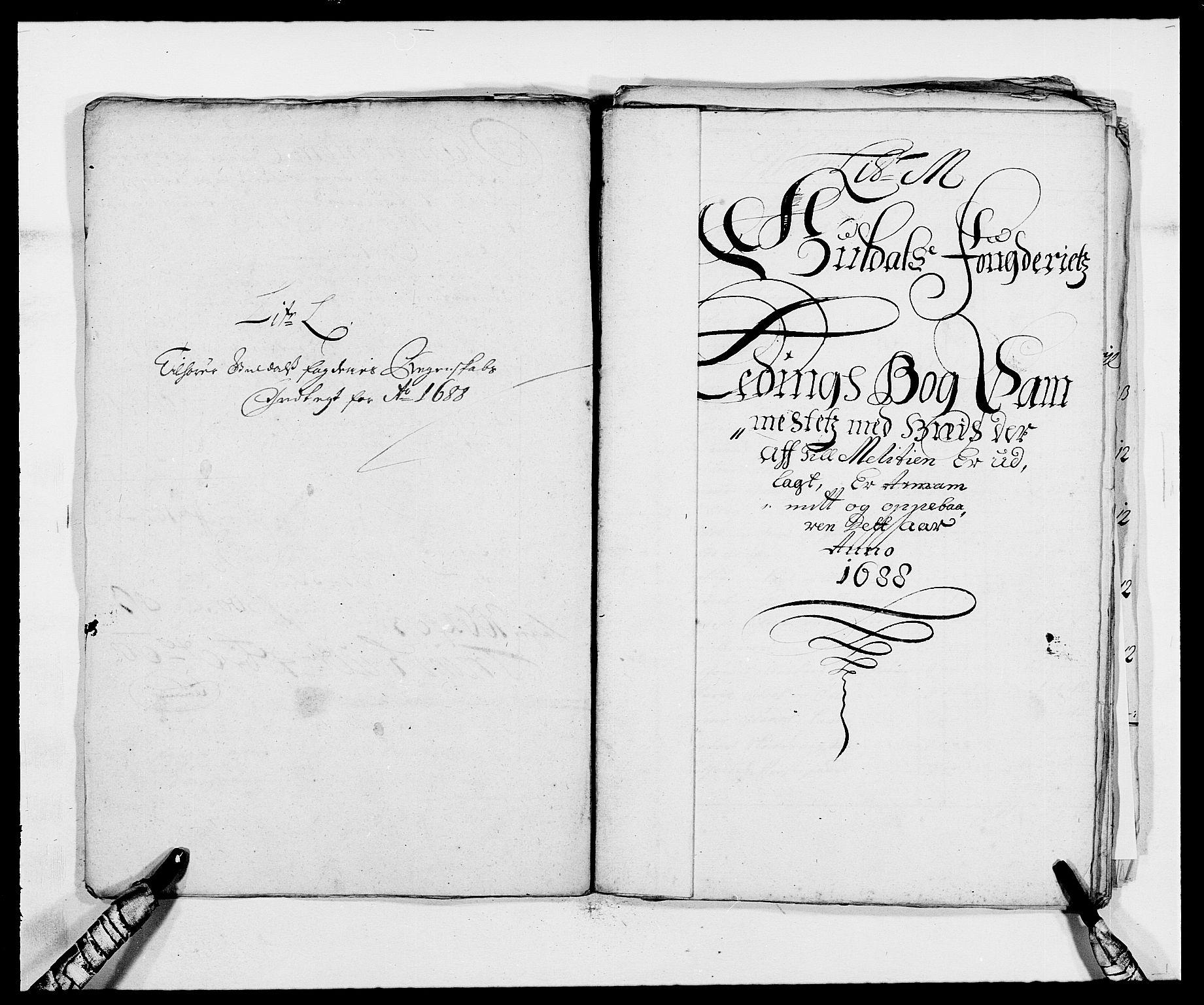 RA, Rentekammeret inntil 1814, Reviderte regnskaper, Fogderegnskap, R59/L3939: Fogderegnskap Gauldal, 1687-1688, s. 263