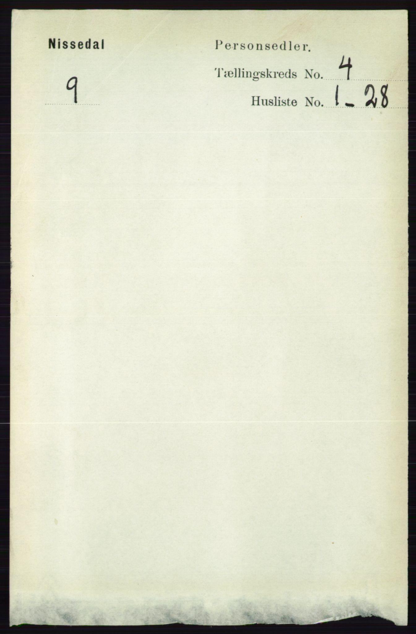 RA, Folketelling 1891 for 0830 Nissedal herred, 1891, s. 859