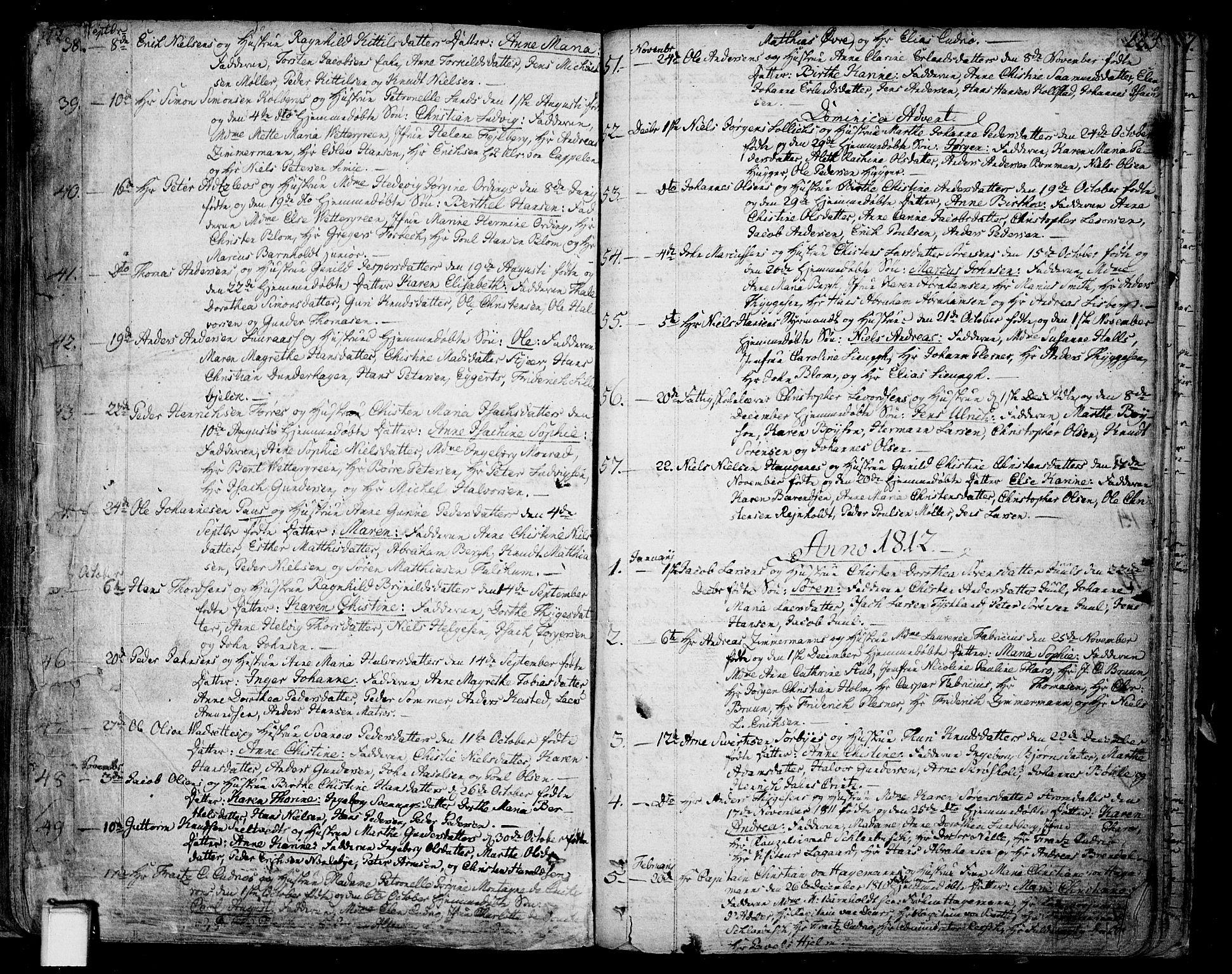 SAKO, Skien kirkebøker, F/Fa/L0004: Ministerialbok nr. 4, 1792-1814, s. 222-223