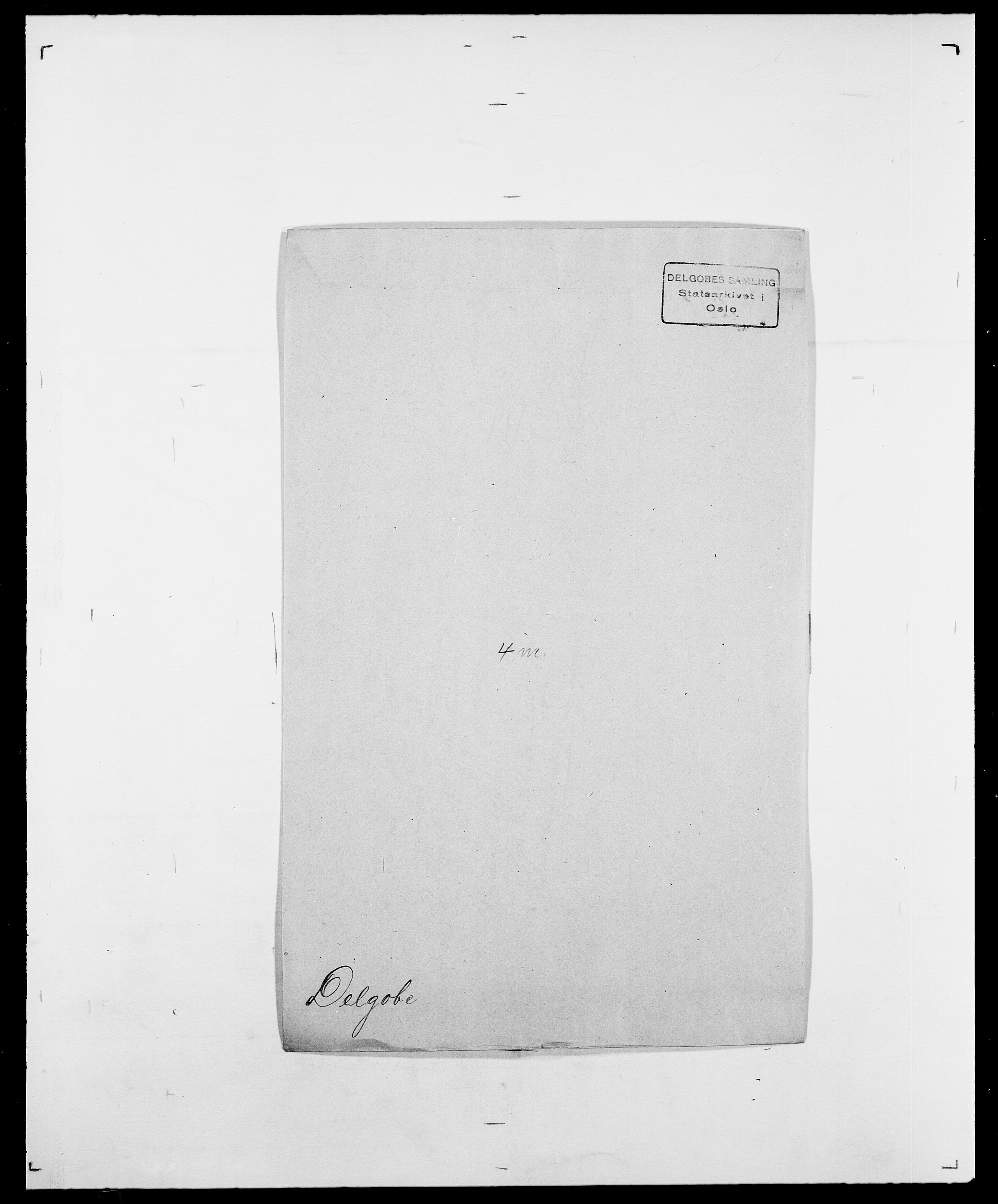 SAO, Delgobe, Charles Antoine - samling, D/Da/L0009: Dahl - v. Düren, s. 473