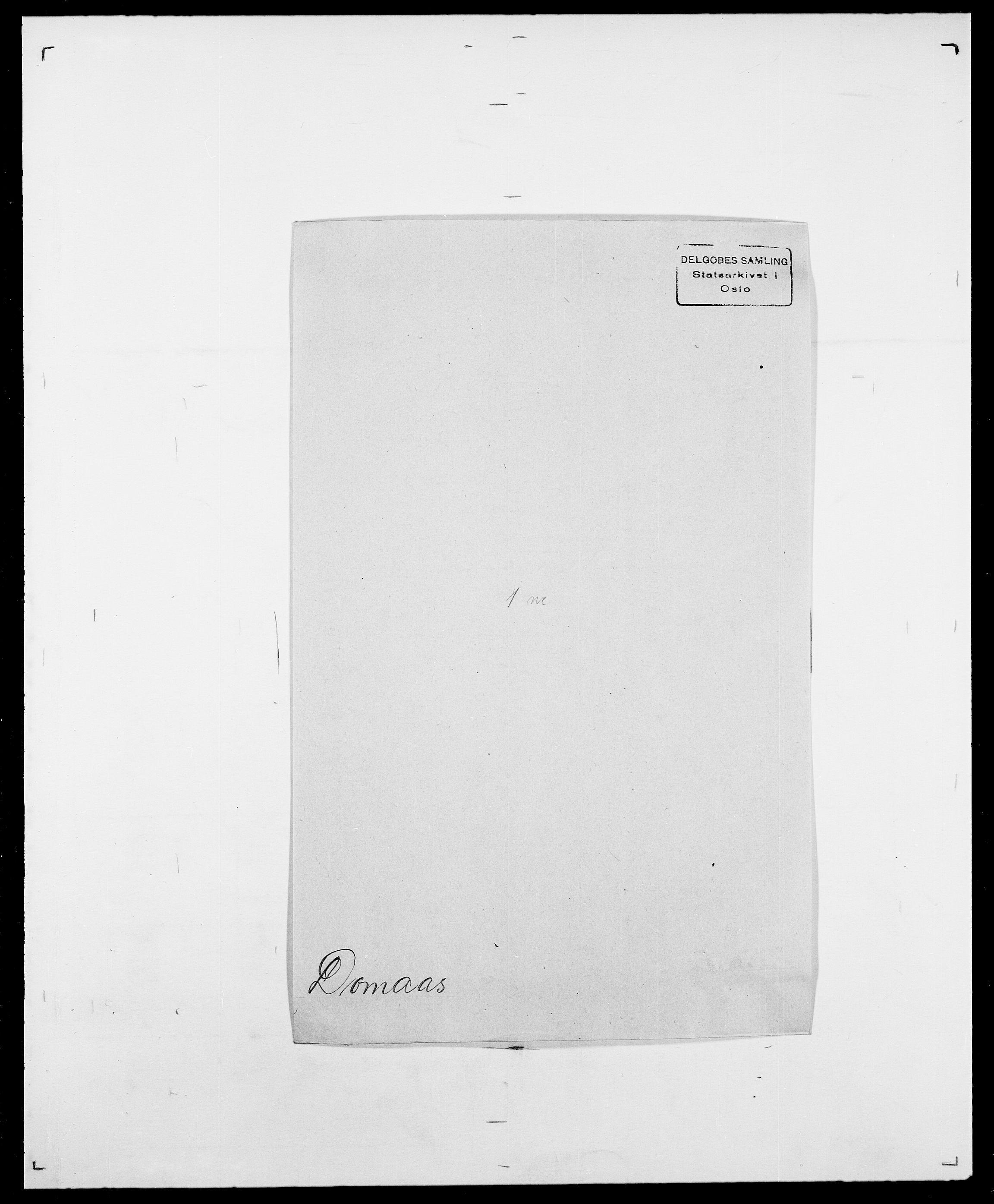 SAO, Delgobe, Charles Antoine - samling, D/Da/L0009: Dahl - v. Düren, s. 643