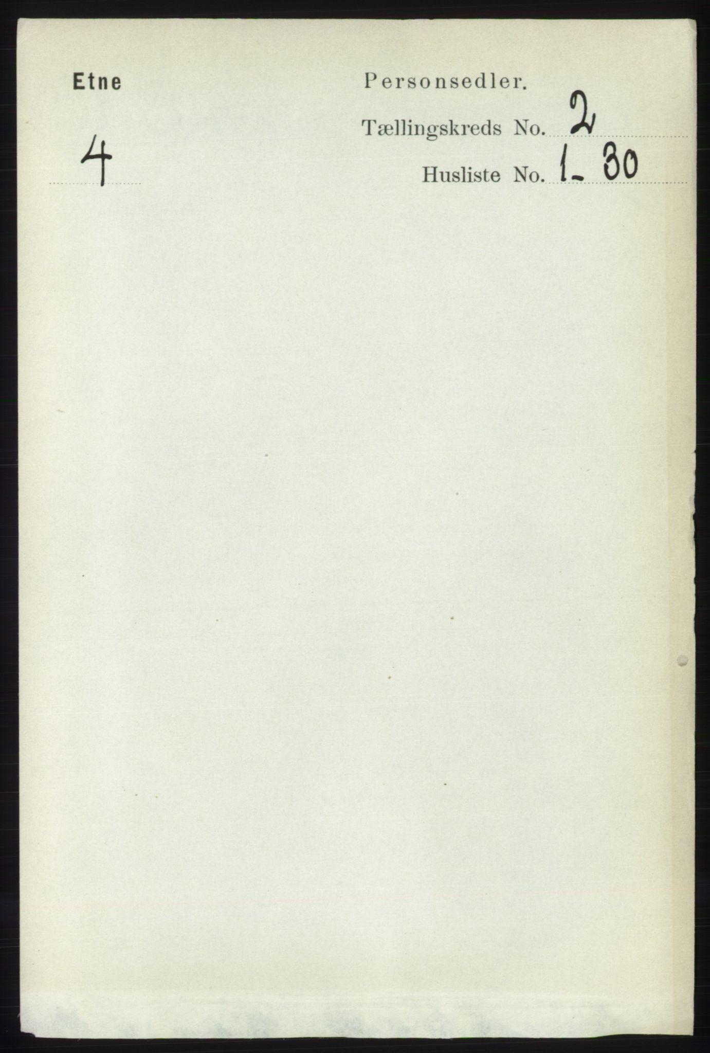 RA, Folketelling 1891 for 1211 Etne herred, 1891, s. 331
