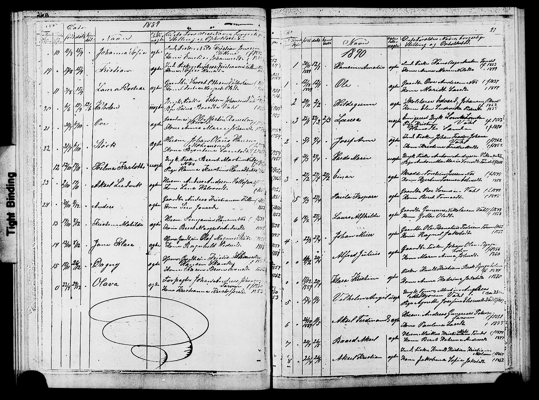 SAT, Ministerialprotokoller, klokkerbøker og fødselsregistre - Sør-Trøndelag, 652/L0653: Klokkerbok nr. 652C01, 1866-1910, s. 27
