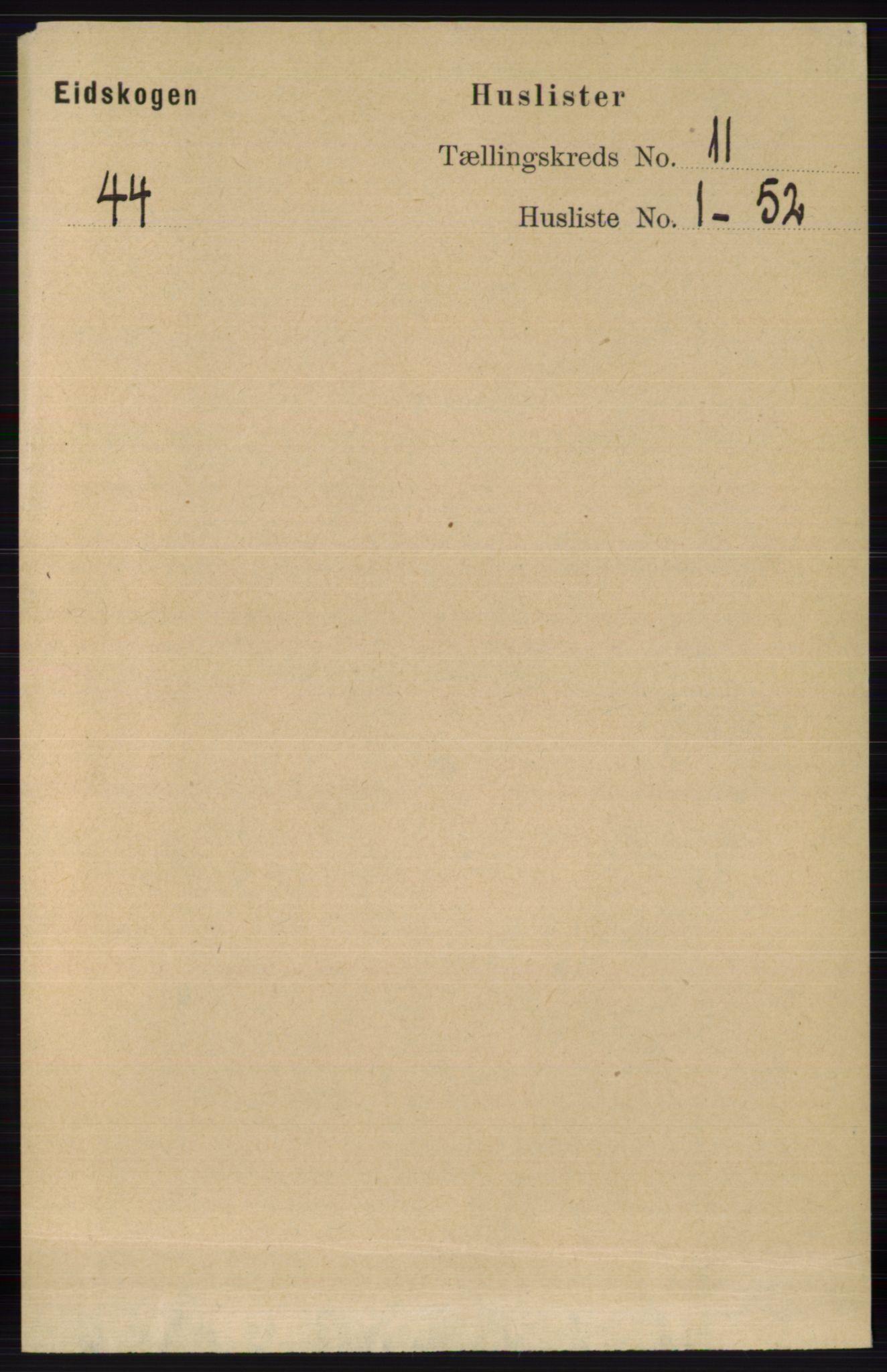 RA, Folketelling 1891 for 0420 Eidskog herred, 1891, s. 6706