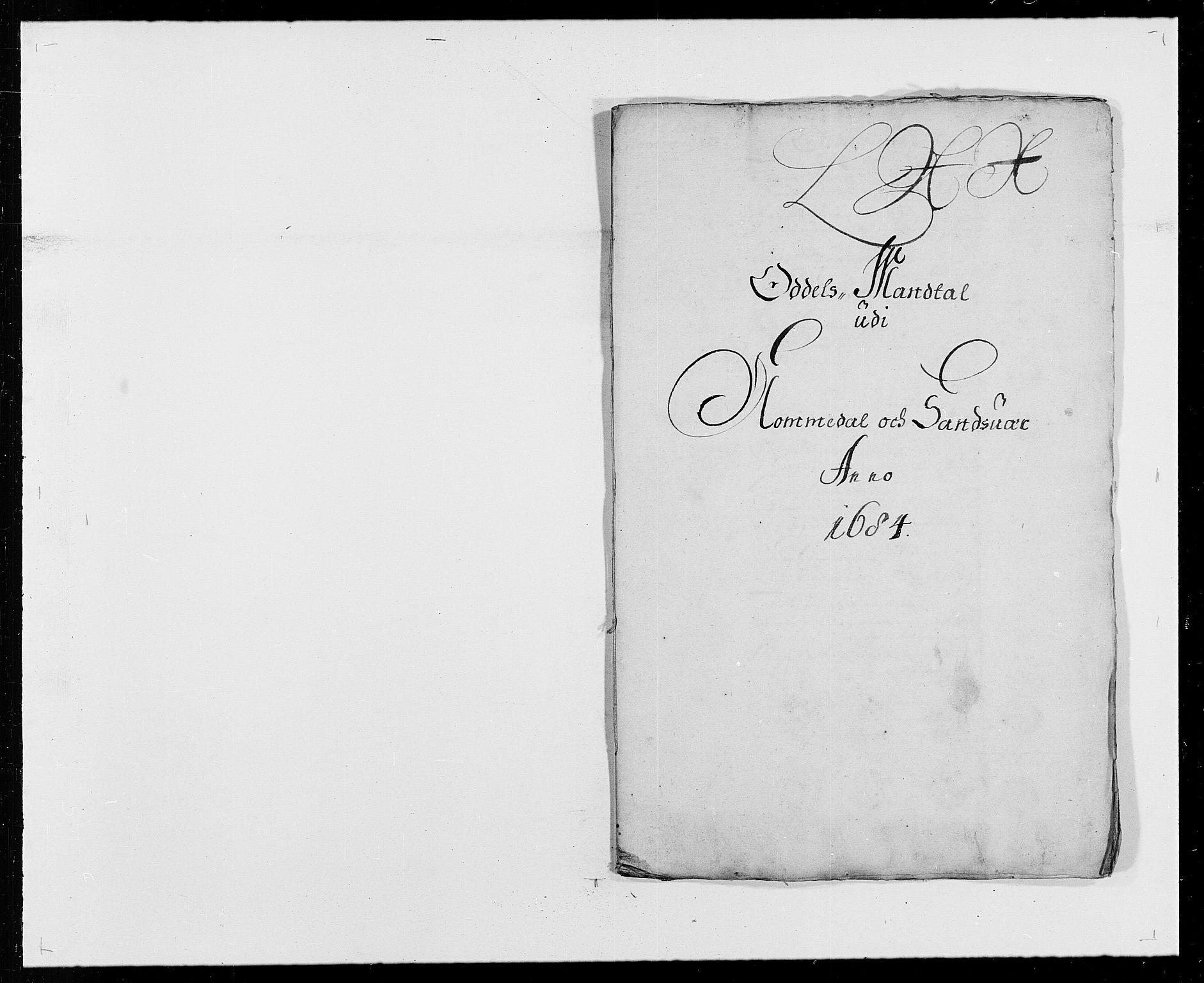 RA, Rentekammeret inntil 1814, Reviderte regnskaper, Fogderegnskap, R24/L1571: Fogderegnskap Numedal og Sandsvær, 1679-1686, s. 191