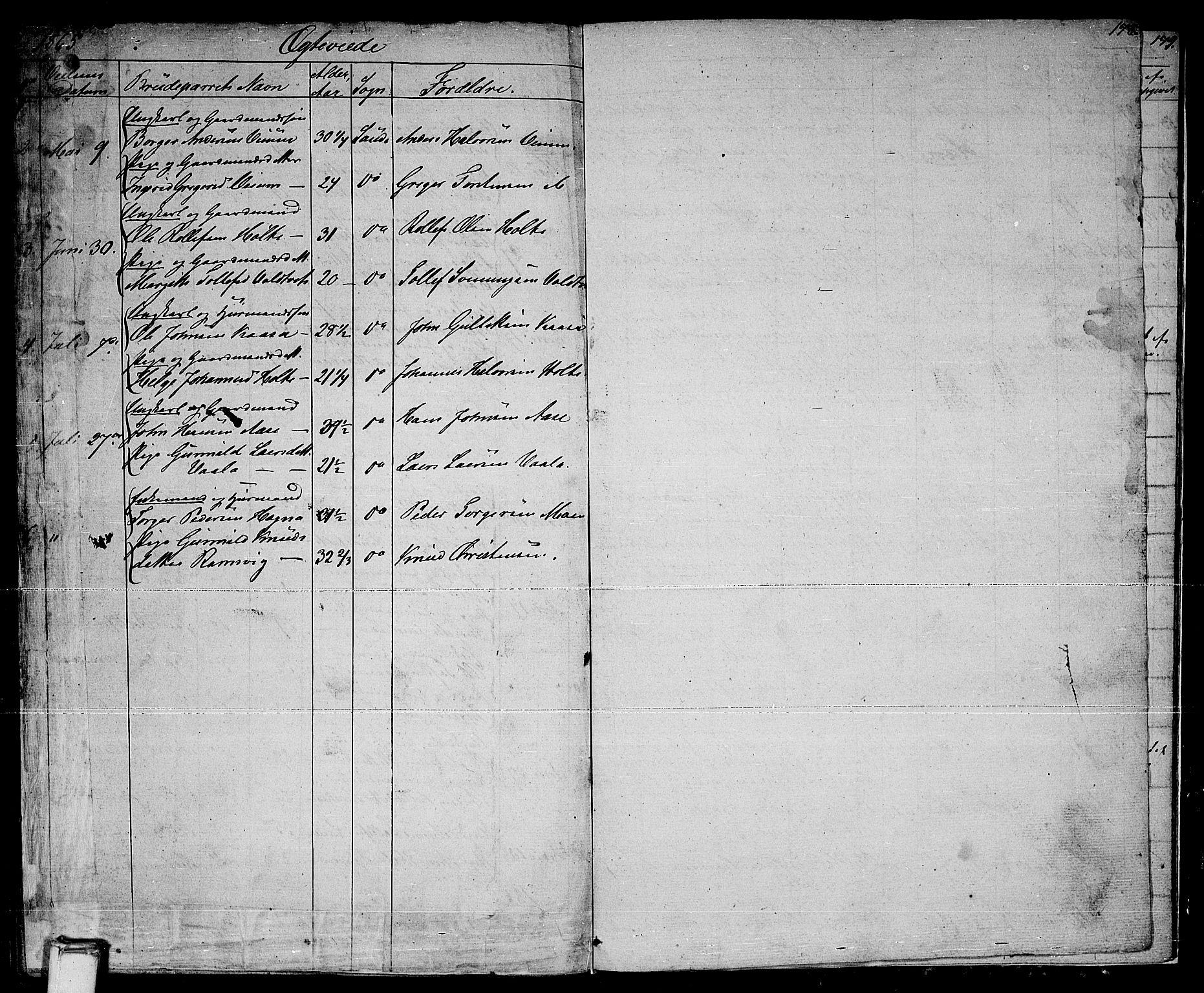 SAKO, Sauherad kirkebøker, G/Ga/L0002: Klokkerbok nr. I 2, 1842-1866, s. 178
