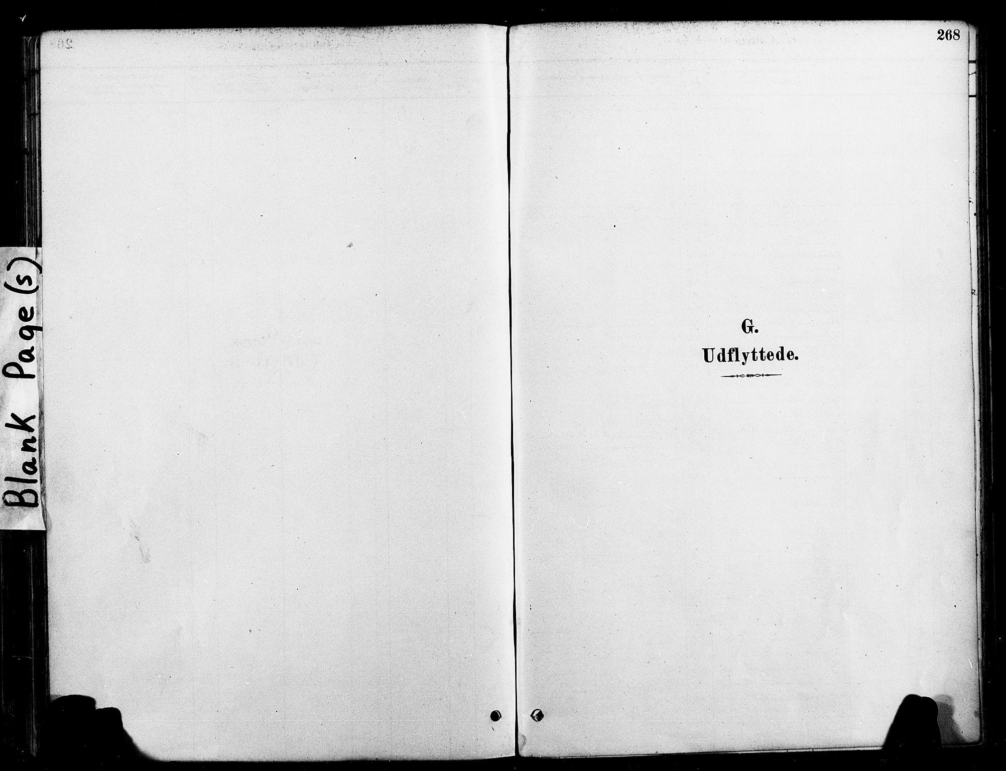 SAT, Ministerialprotokoller, klokkerbøker og fødselsregistre - Nord-Trøndelag, 709/L0077: Ministerialbok nr. 709A17, 1880-1895, s. 268
