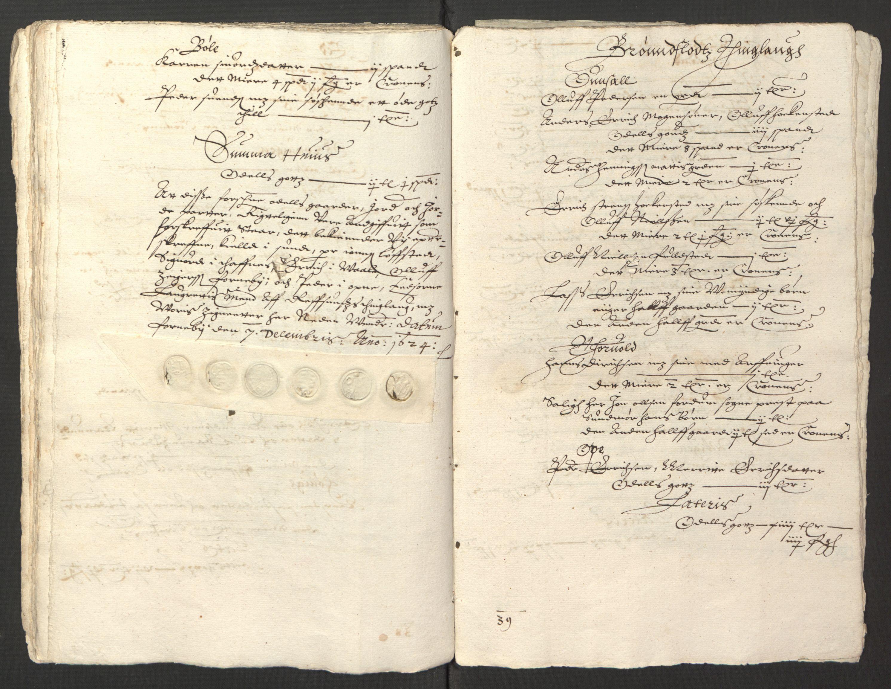 RA, Stattholderembetet 1572-1771, Ek/L0013: Jordebøker til utlikning av rosstjeneste 1624-1626:, 1624-1625, s. 134