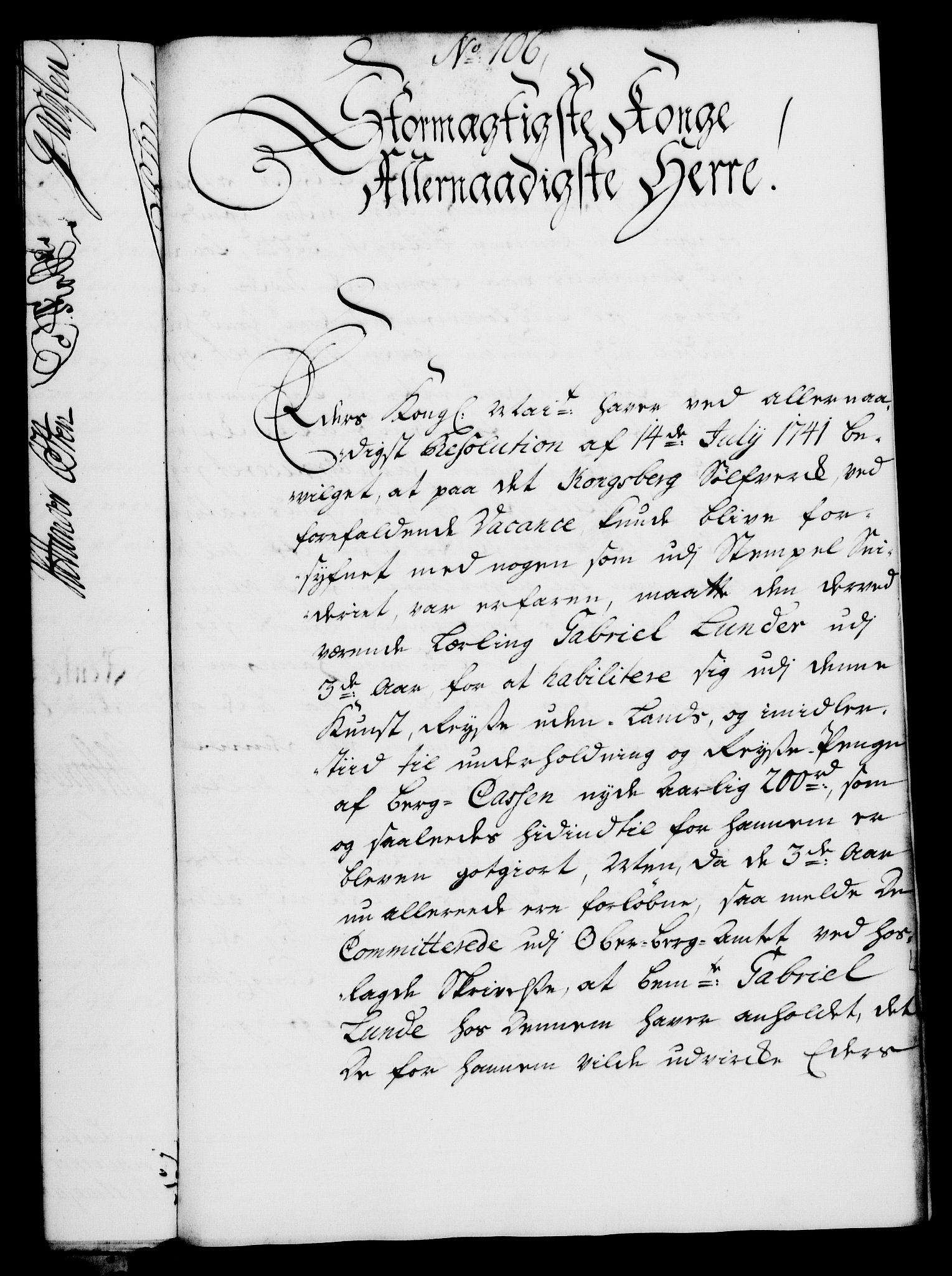 RA, Rentekammeret, Kammerkanselliet, G/Gf/Gfa/L0027: Norsk relasjons- og resolusjonsprotokoll (merket RK 52.27), 1744, s. 671