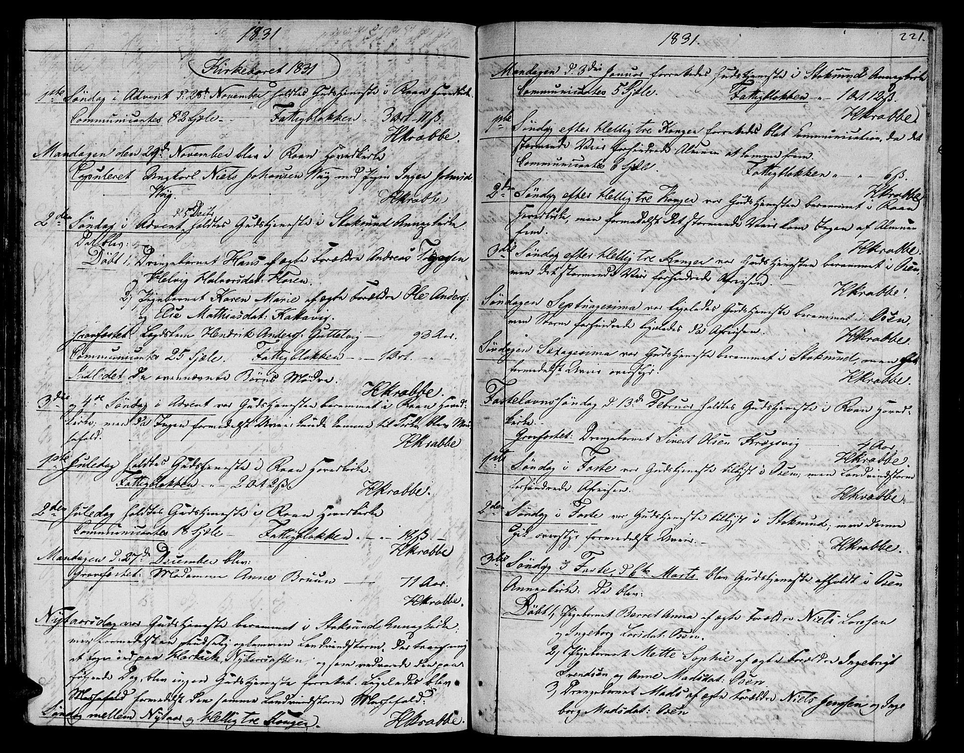 SAT, Ministerialprotokoller, klokkerbøker og fødselsregistre - Sør-Trøndelag, 657/L0701: Ministerialbok nr. 657A02, 1802-1831, s. 221a