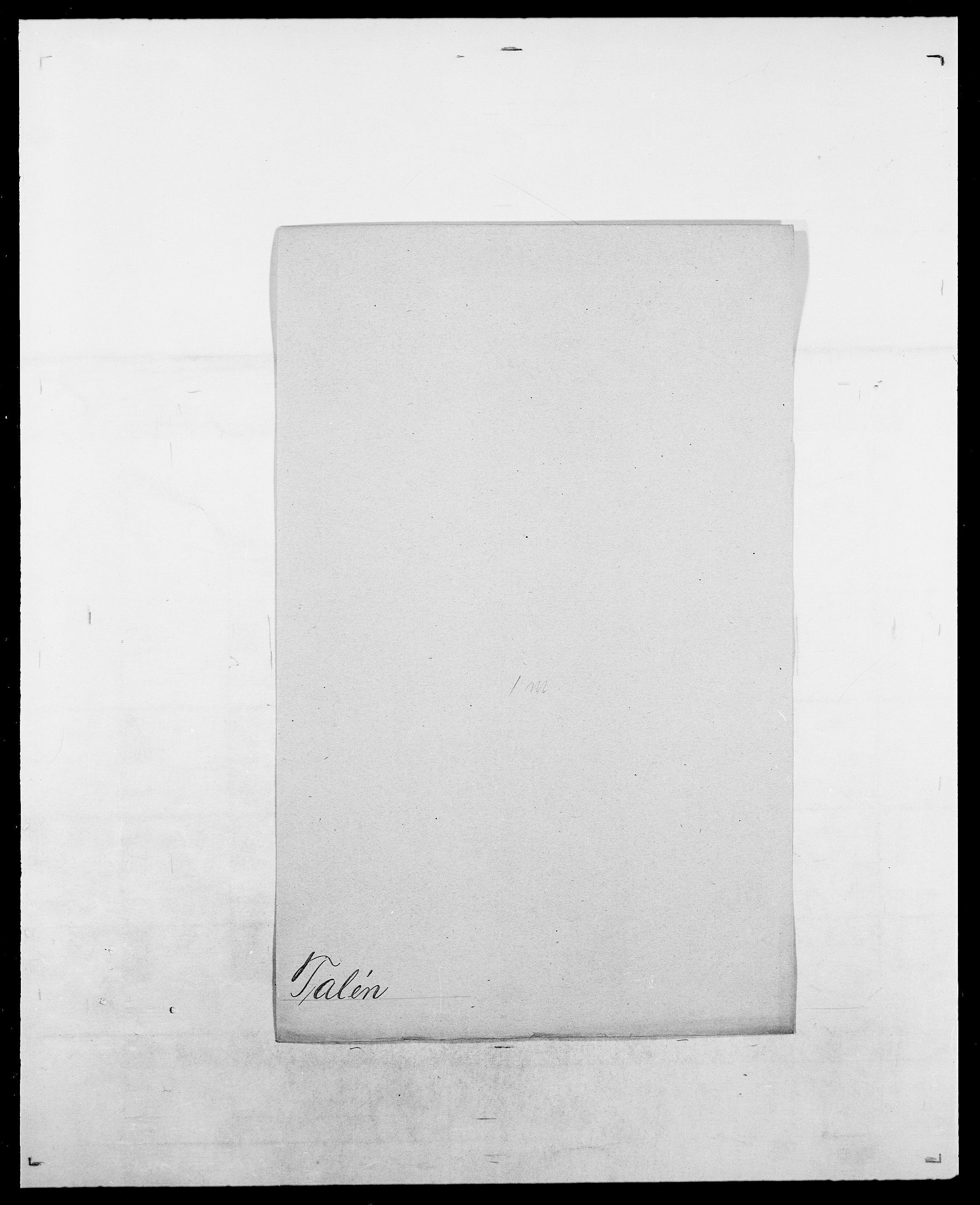 SAO, Delgobe, Charles Antoine - samling, D/Da/L0038: Svanenskjold - Thornsohn, s. 274