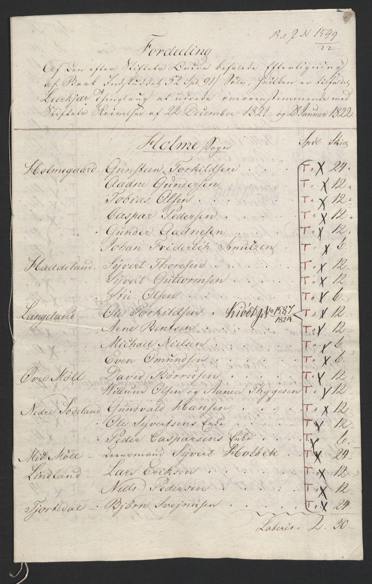NOBA, Norges Bank/Sølvskatten 1816*, 1816-1822, s. 120