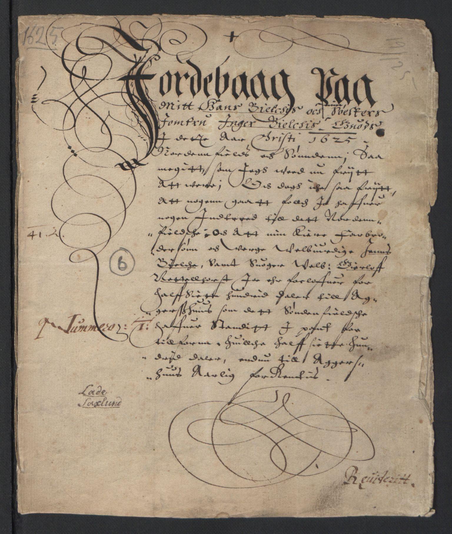 RA, Stattholderembetet 1572-1771, Ek/L0007: Jordebøker til utlikning av rosstjeneste 1624-1626:, 1624-1625, s. 48
