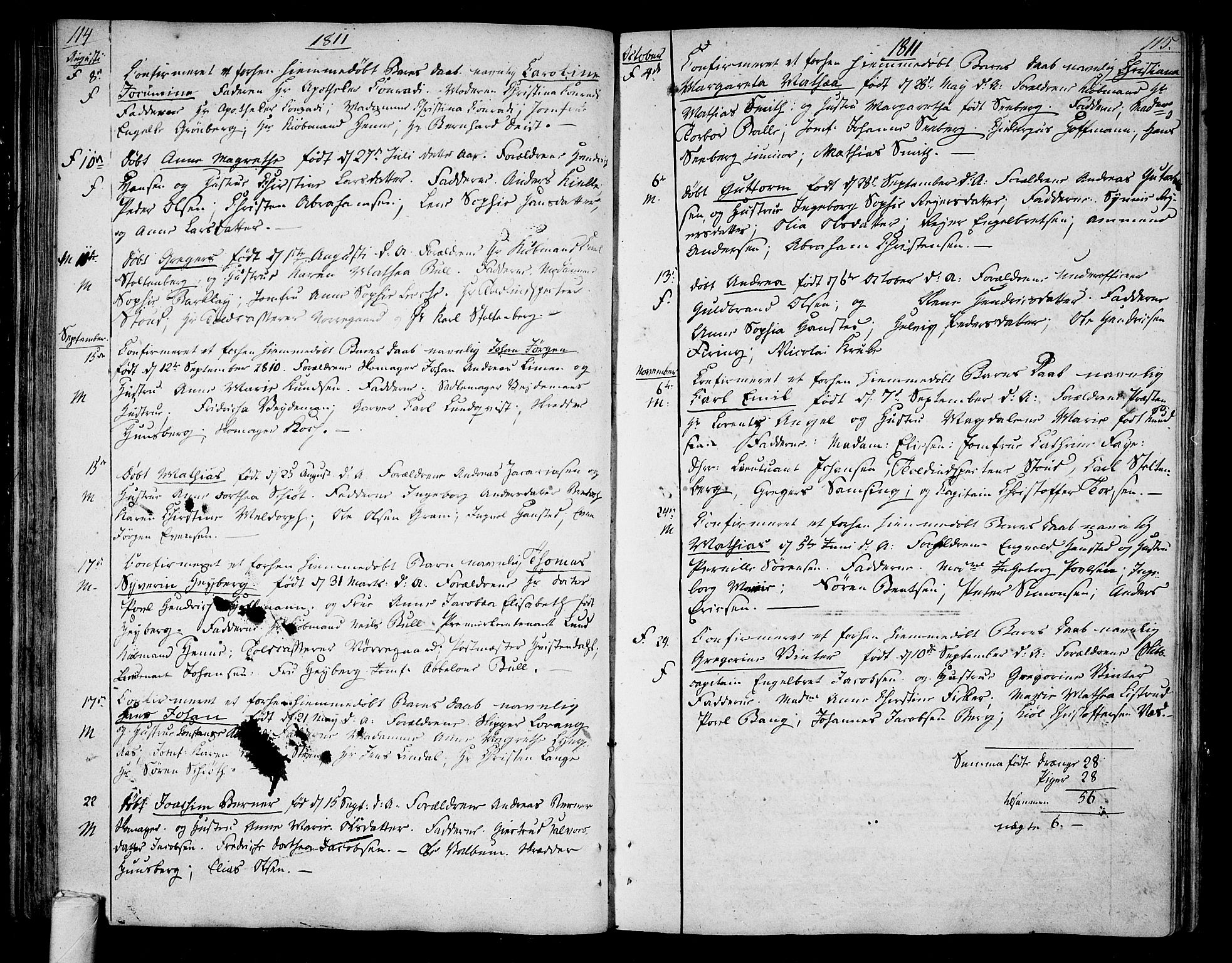 SAKO, Tønsberg kirkebøker, F/Fa/L0003: Ministerialbok nr. I 3, 1797-1814, s. 114-115