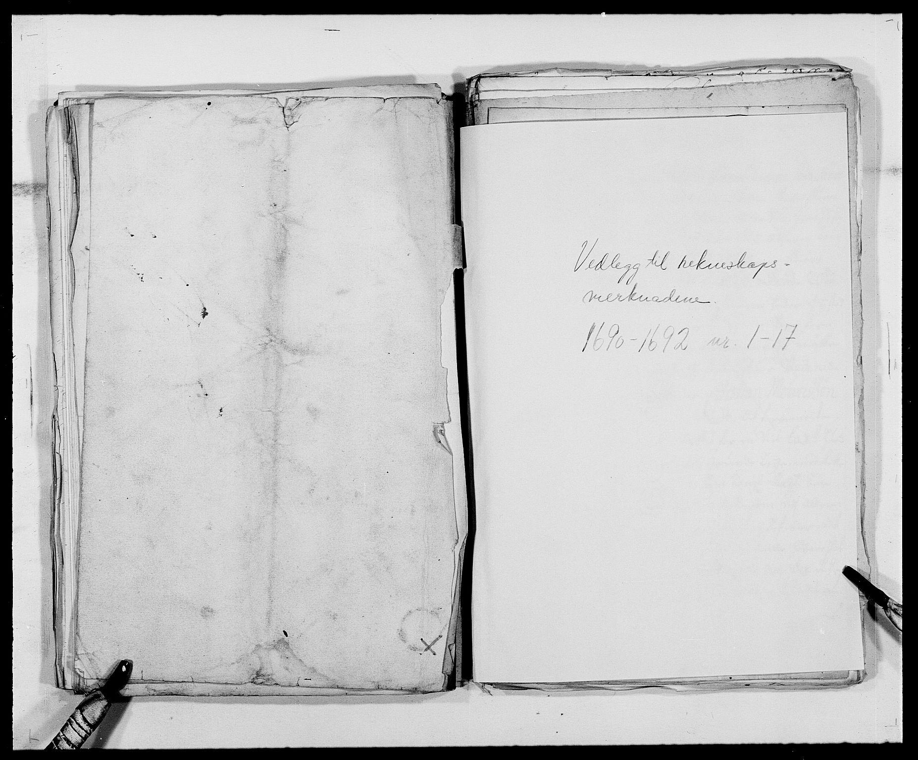 RA, Rentekammeret inntil 1814, Reviderte regnskaper, Fogderegnskap, R39/L2311: Fogderegnskap Nedenes, 1690-1692, s. 363