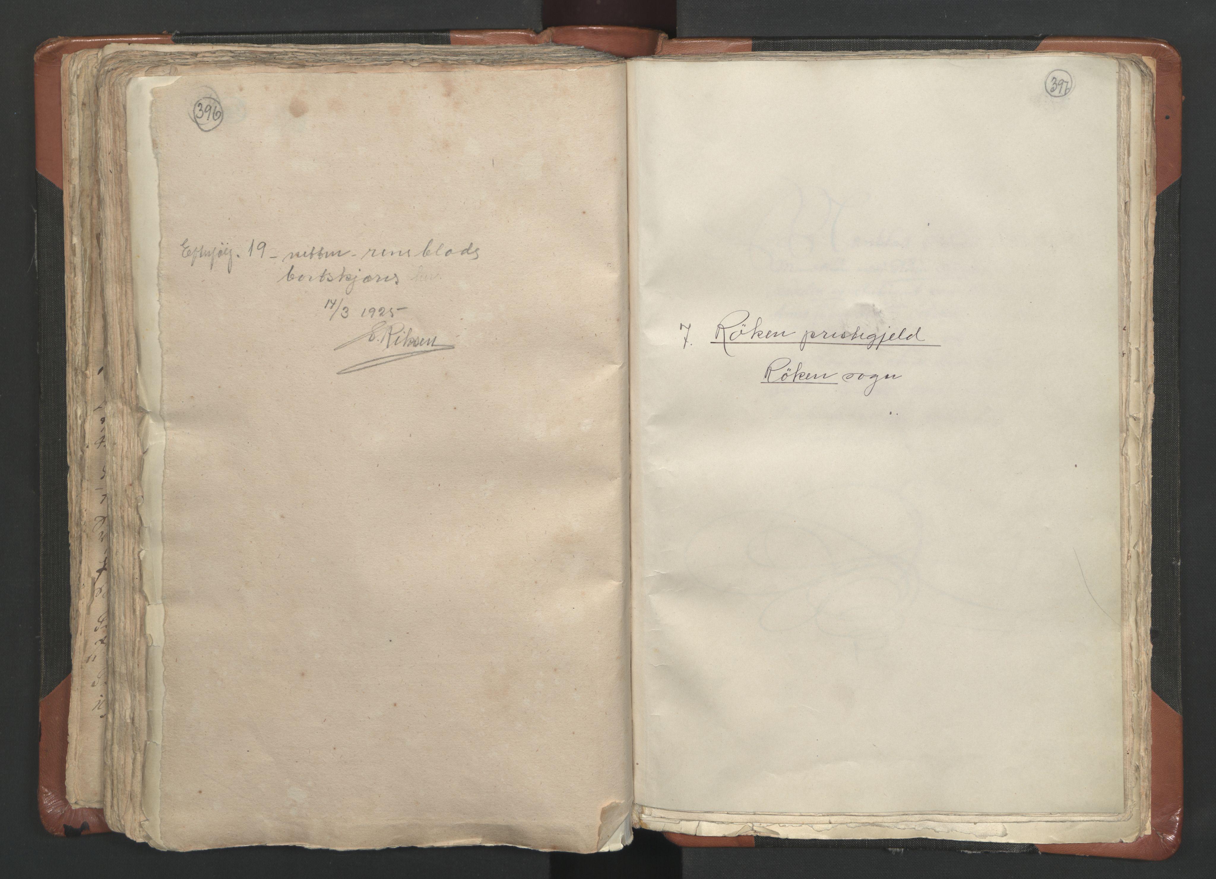 RA, Sogneprestenes manntall 1664-1666, nr. 9: Bragernes prosti, 1664-1666, s. 396-397