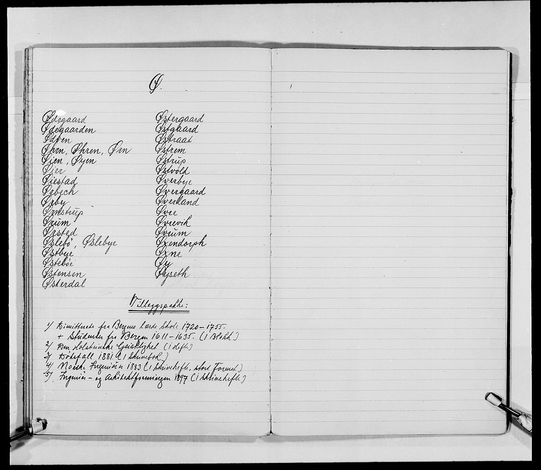 SAO, Delgobe, Charles Antoine - samling, D, s. 81