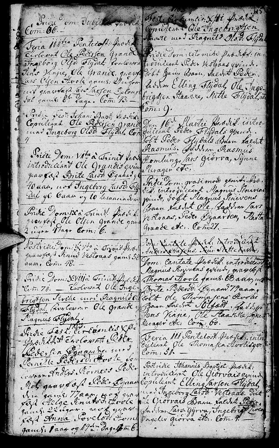 SAT, Ministerialprotokoller, klokkerbøker og fødselsregistre - Møre og Romsdal, 519/L0243: Ministerialbok nr. 519A02, 1760-1770, s. 115