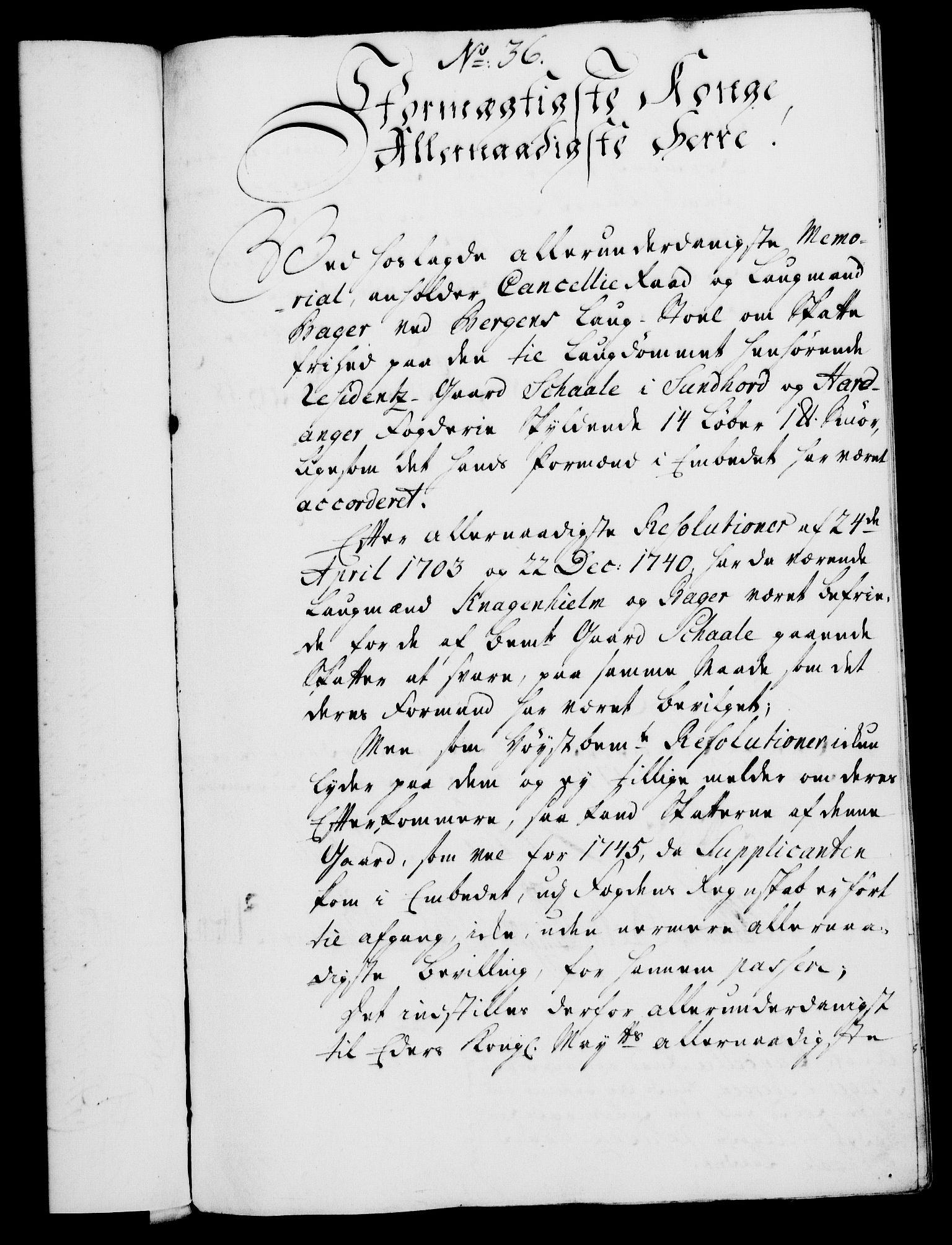 RA, Rentekammeret, Kammerkanselliet, G/Gf/Gfa/L0029: Norsk relasjons- og resolusjonsprotokoll (merket RK 52.29), 1746-1747, s. 375