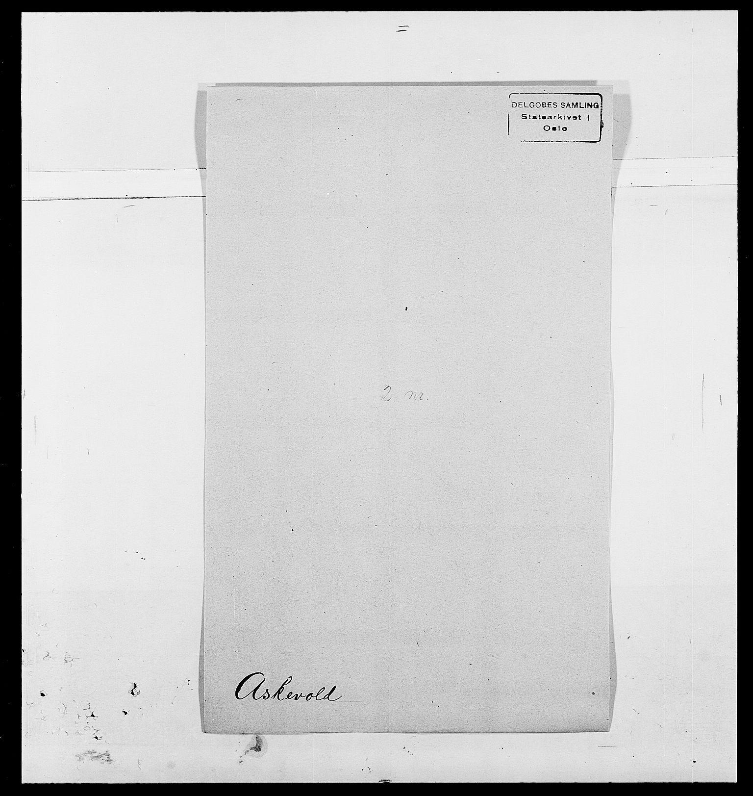 SAO, Delgobe, Charles Antoine - samling, D/Da/L0002: Anker, Ancher - Bauner, s. 434