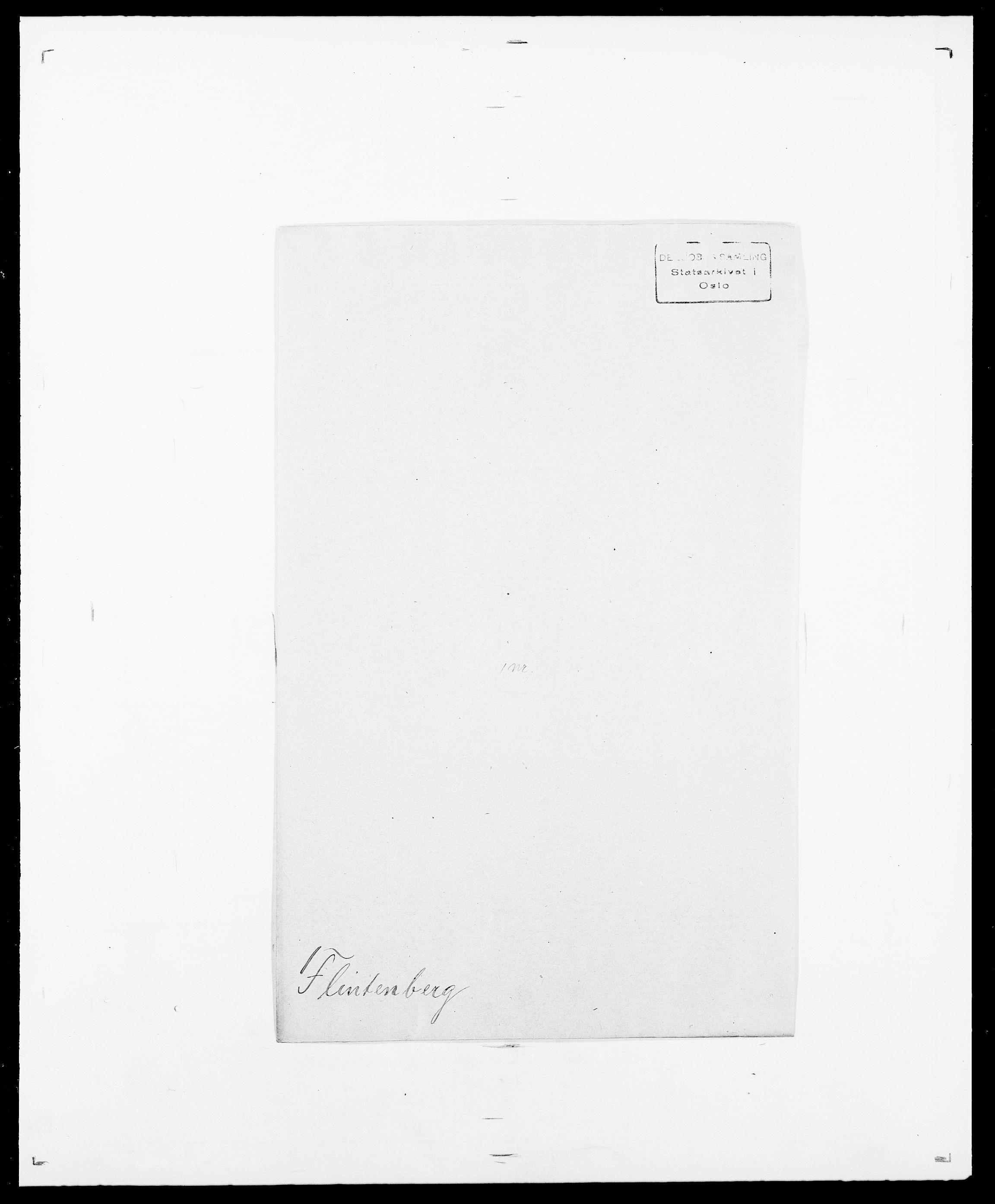SAO, Delgobe, Charles Antoine - samling, D/Da/L0011: Fahlander - Flood, Flod, s. 668